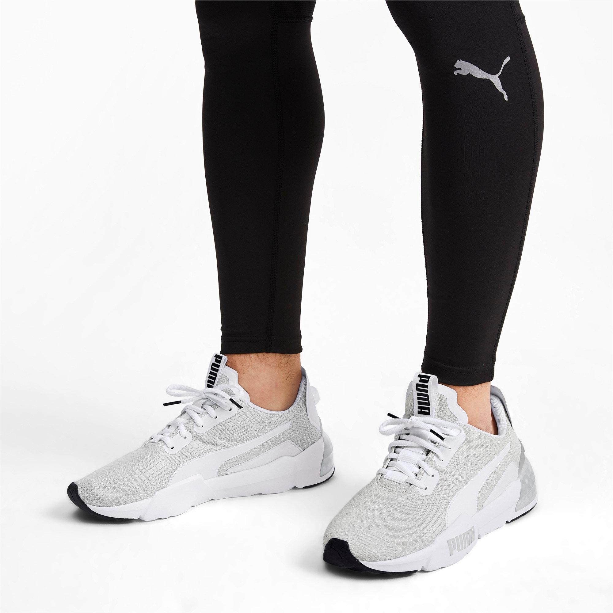 Thumbnail 2 of CELL Phase Lights Men's Running Shoes, Puma White-Gray Violet, medium