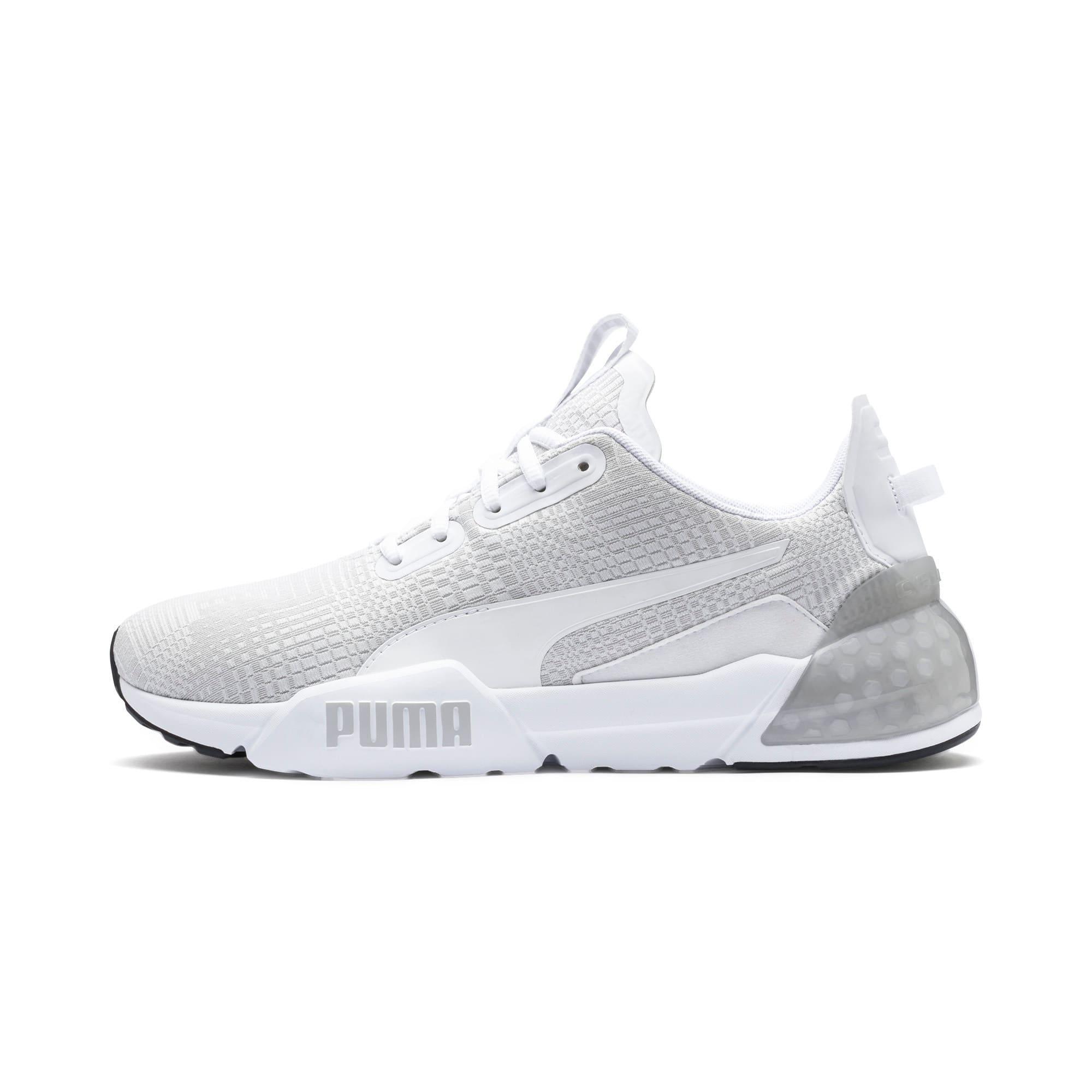 Thumbnail 1 of CELL Phase Lights Men's Running Shoes, Puma White-Gray Violet, medium