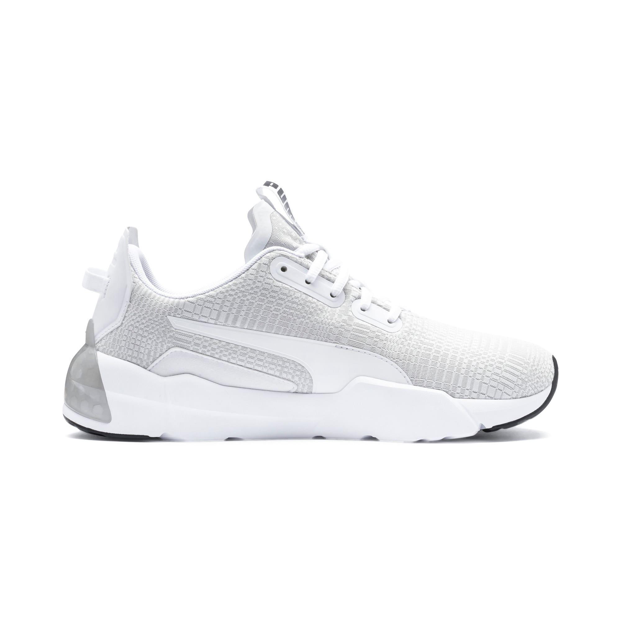 Thumbnail 6 of CELL Phase Lights Men's Running Shoes, Puma White-Gray Violet, medium