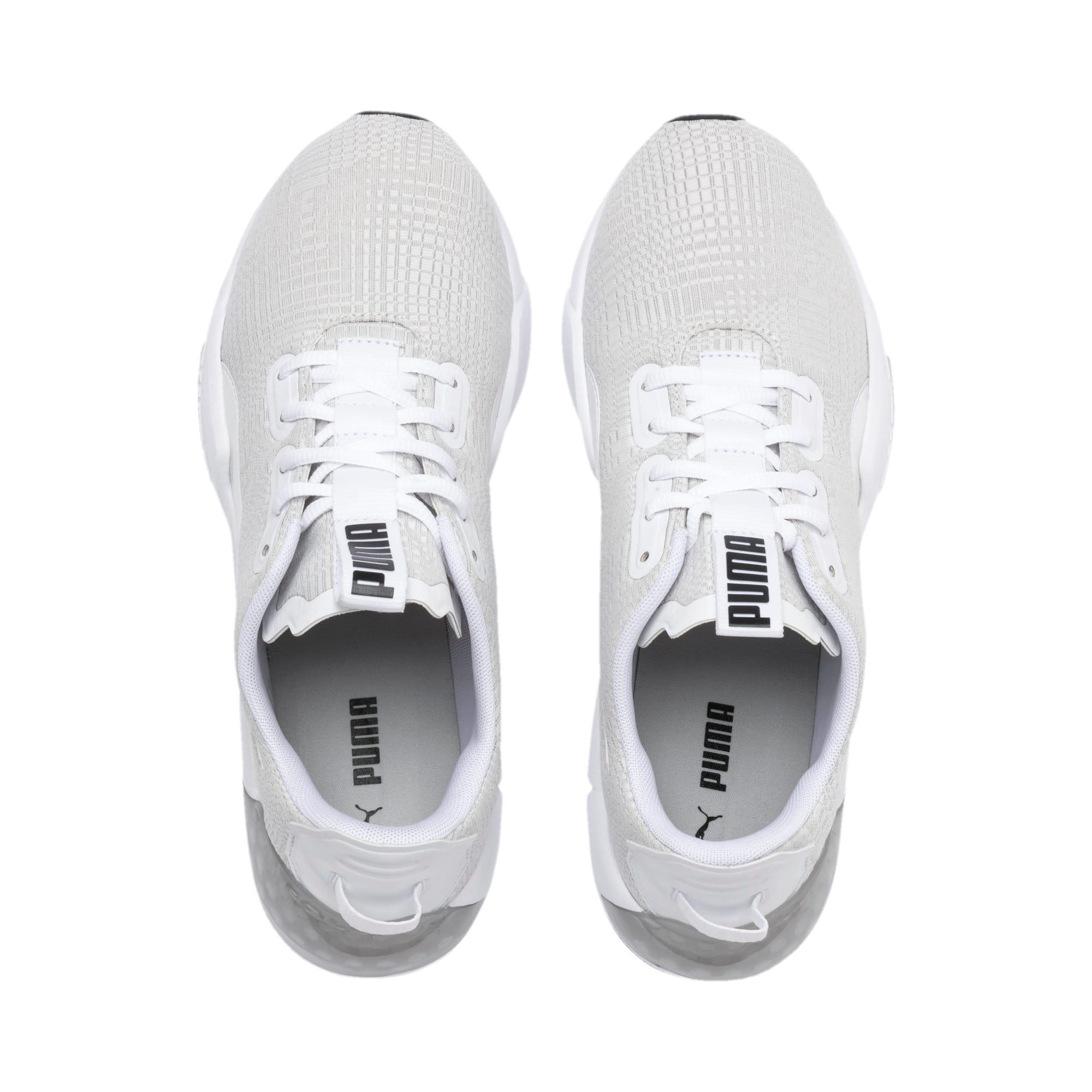 Thumbnail 7 of CELL Phase Lights Men's Running Shoes, Puma White-Gray Violet, medium