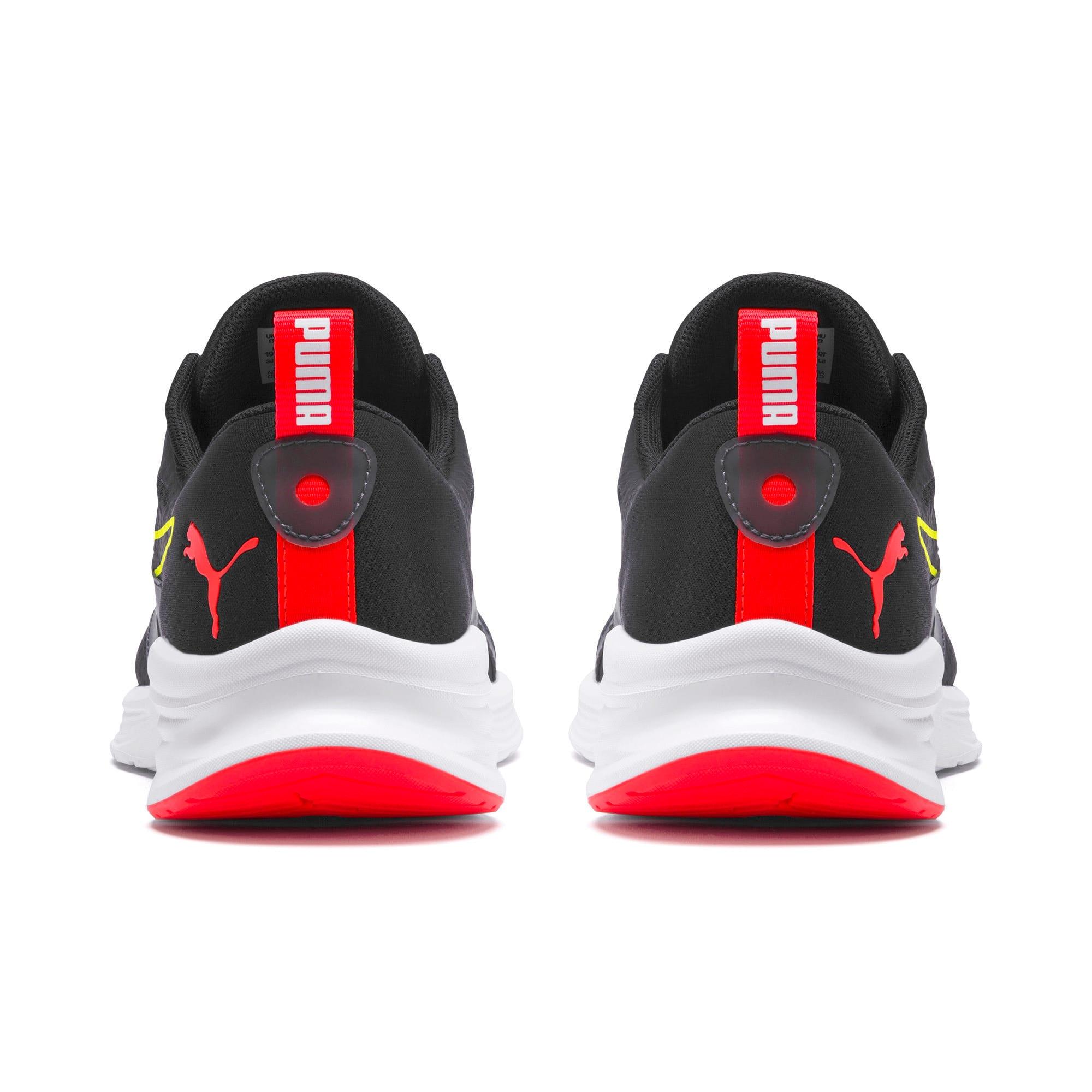 Thumbnail 3 of HYBRID Fuego Men's Running Shoes, Puma Black-Yellow Alert, medium