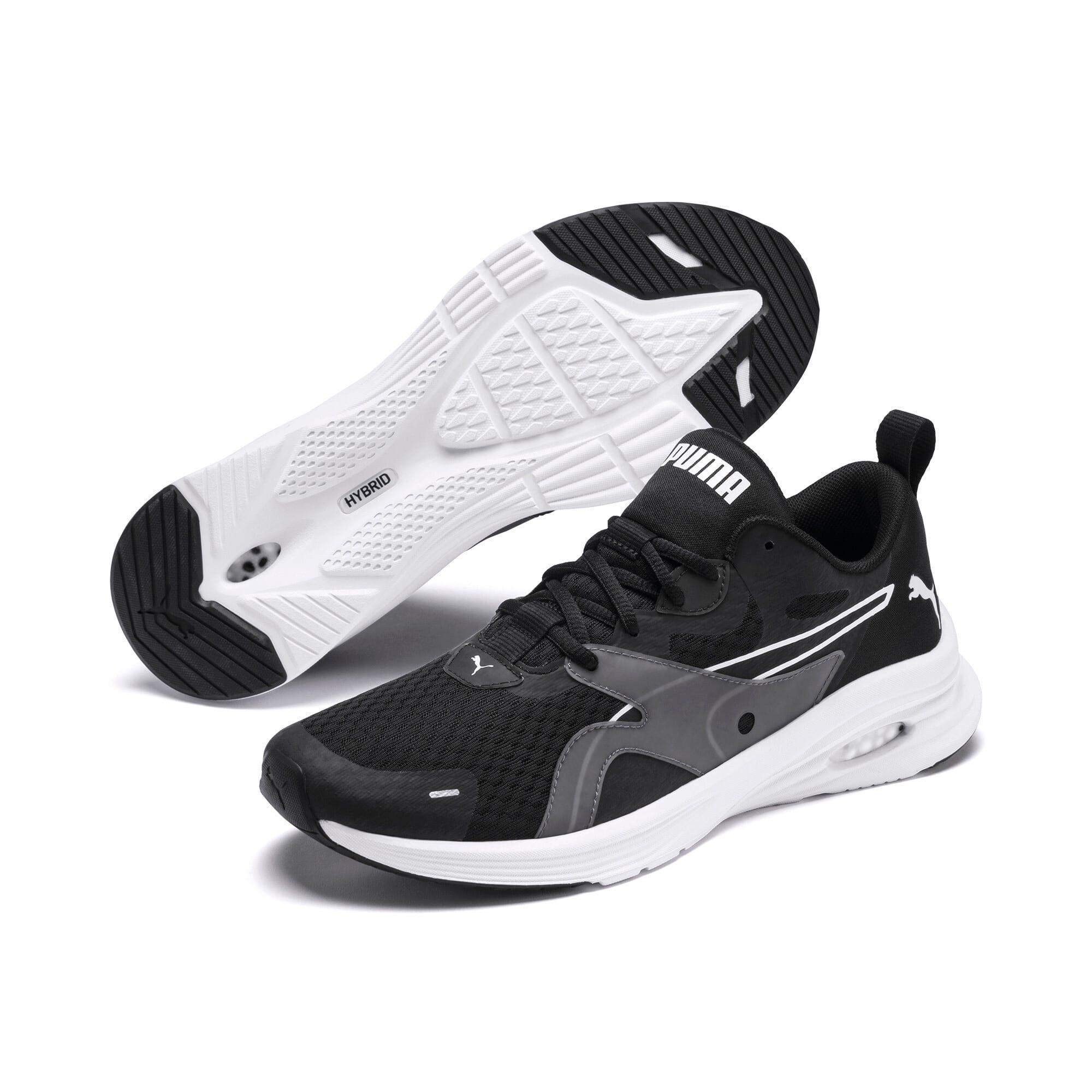 Thumbnail 3 of HYBRID Fuego Men's Running Shoes, Puma Black-Puma White, medium