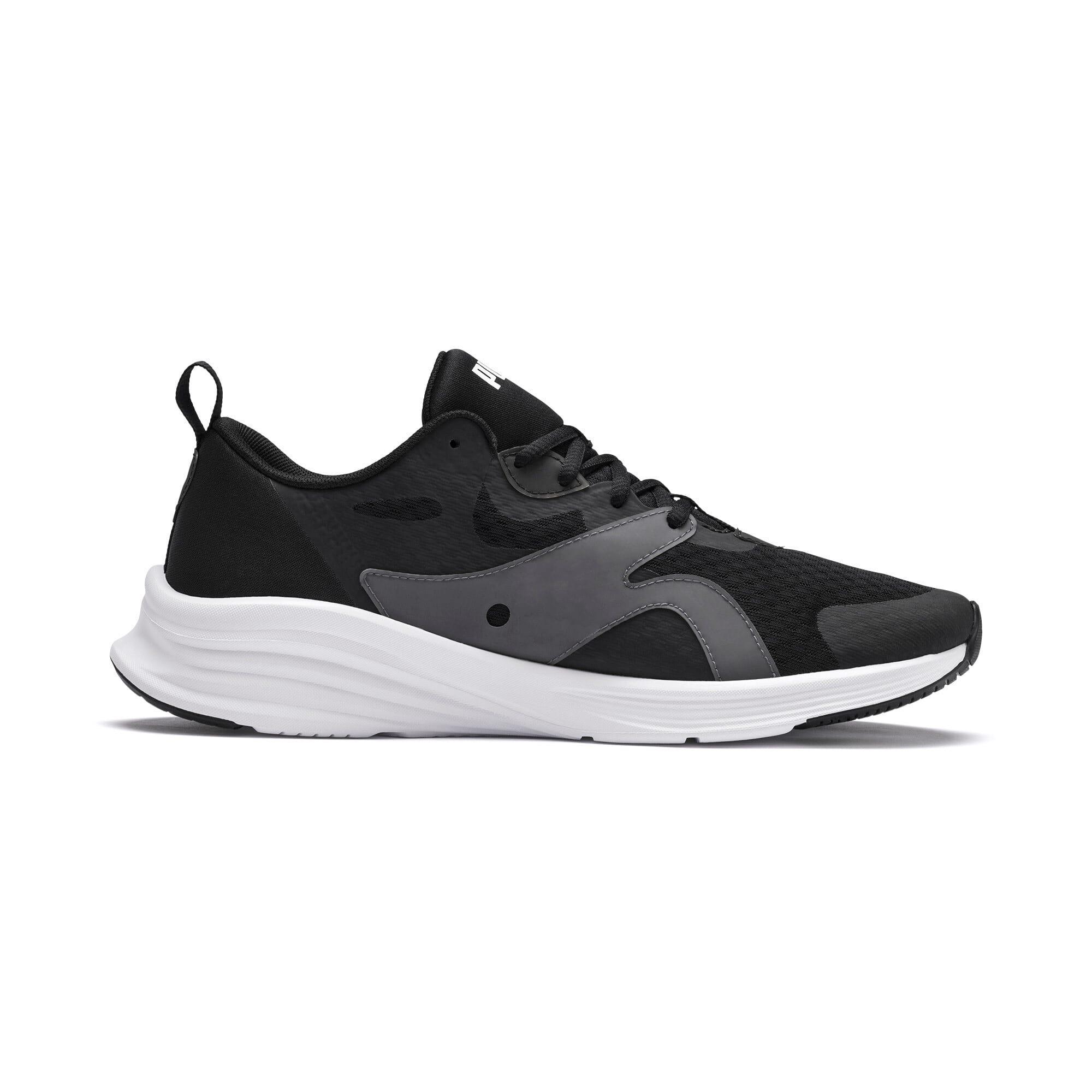 Thumbnail 6 of HYBRID Fuego Men's Running Shoes, Puma Black-Puma White, medium