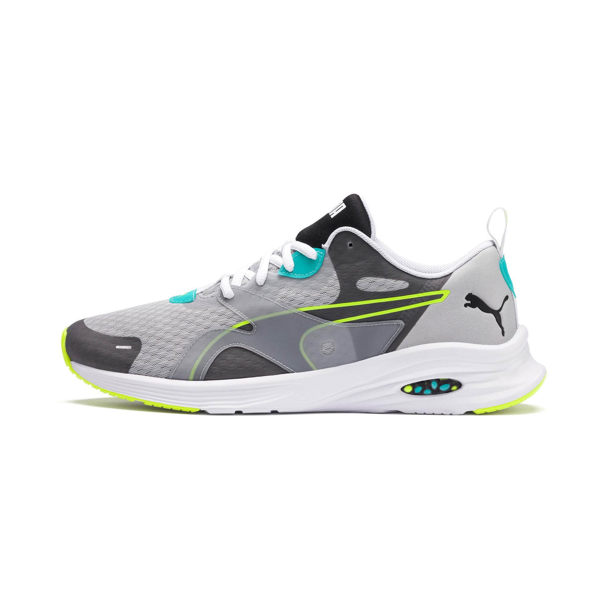 Miniatura 1 de Zapatos para correr HYBRID Fuego para hombre, High Rise-Blue Turquoise, mediano