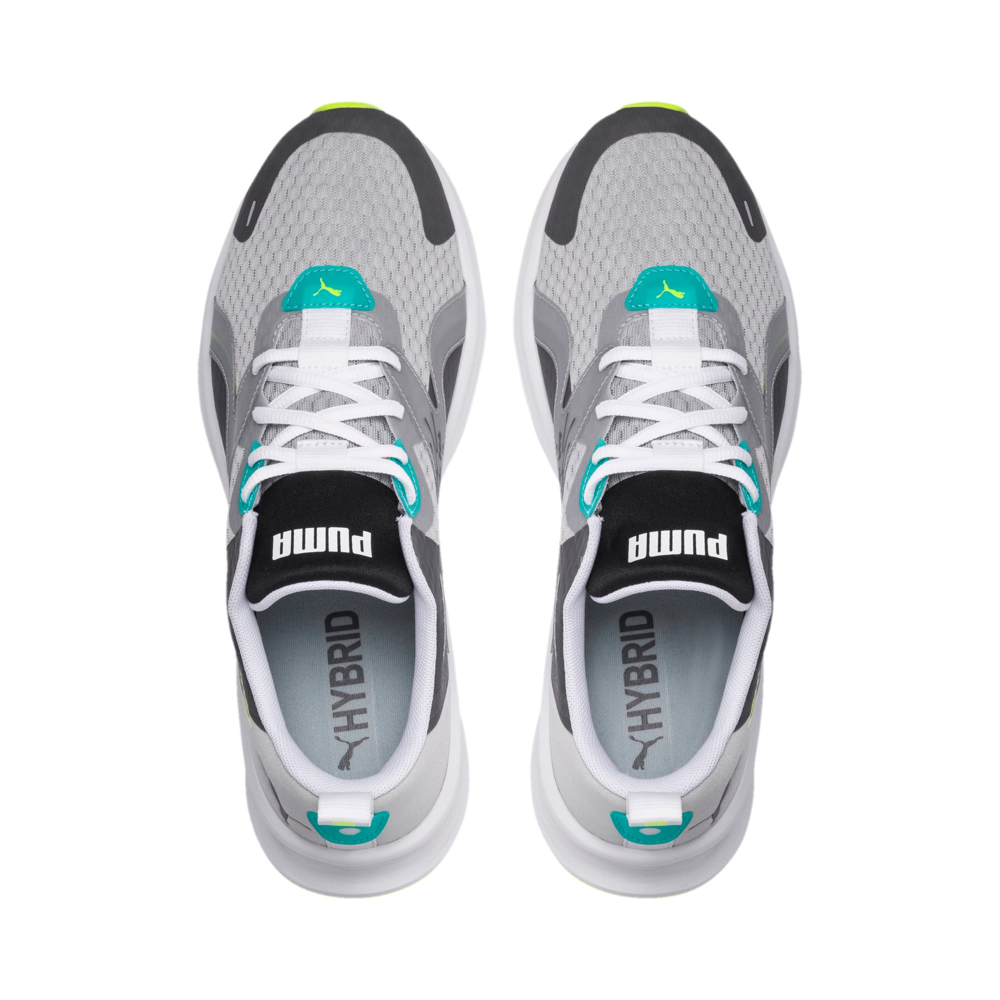 Miniatura 6 de Zapatos para correr HYBRID Fuego para hombre, High Rise-Blue Turquoise, mediano
