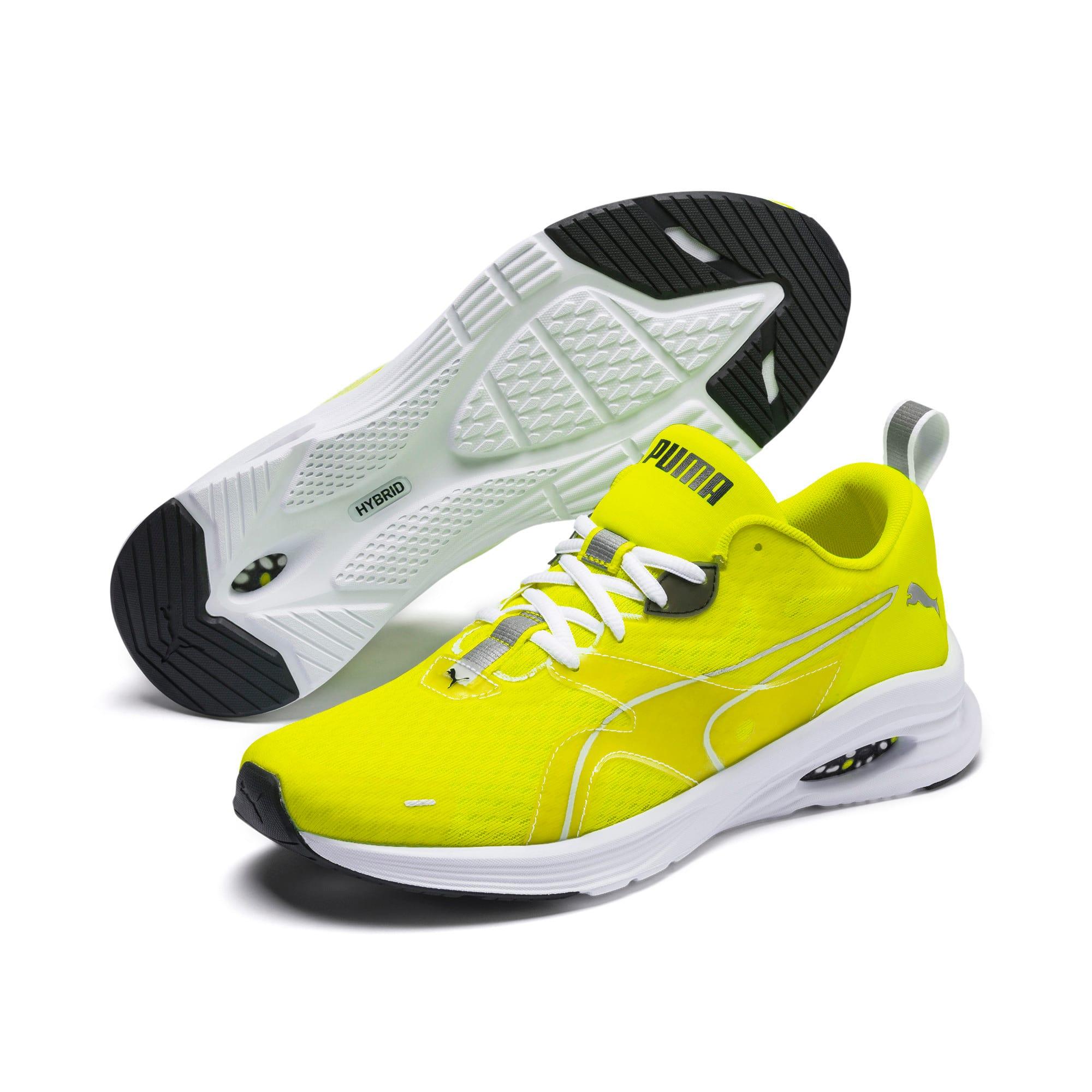 Thumbnail 2 of HYBRID Fuego Lights Men's Running Shoes, Yellow Alert, medium