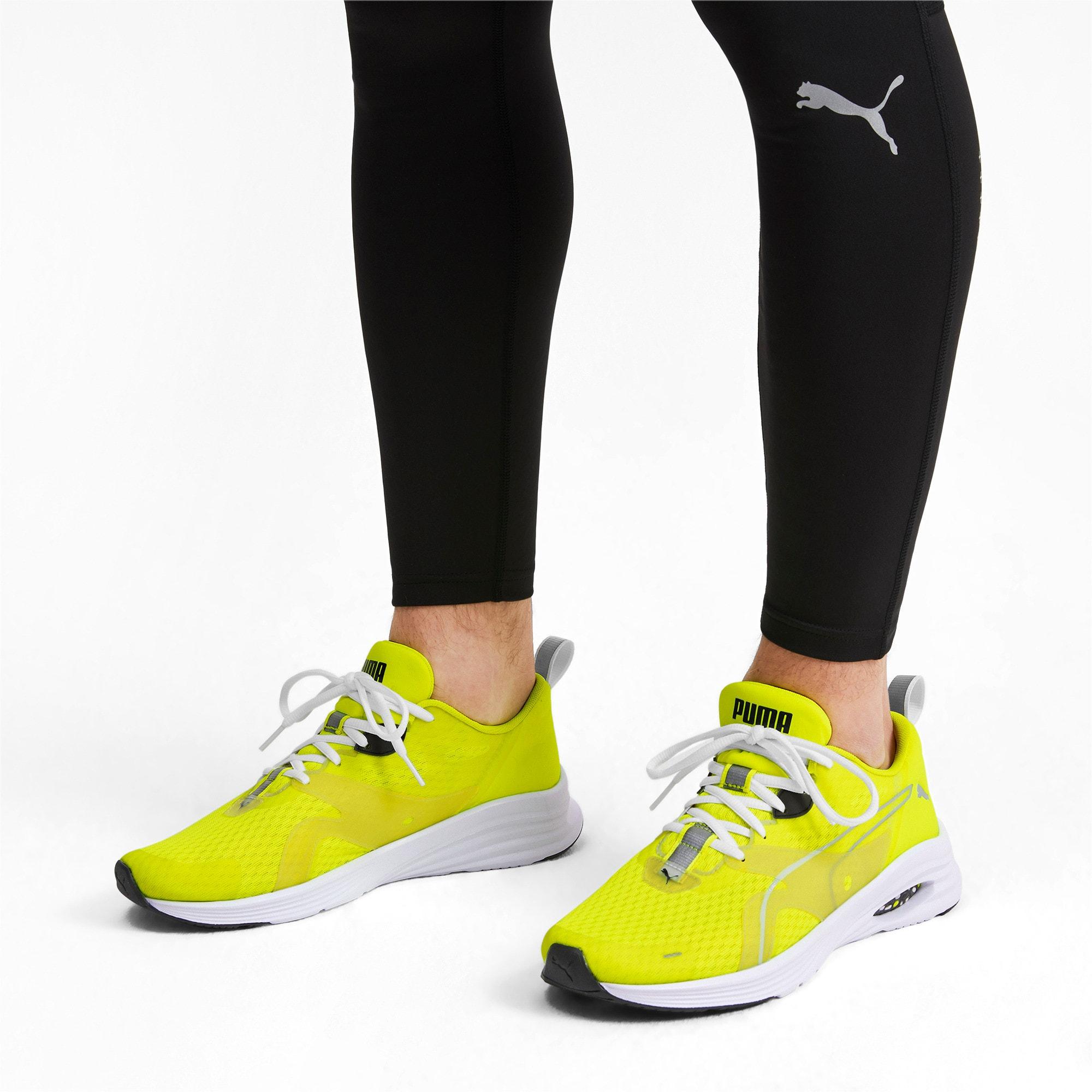 Thumbnail 3 of HYBRID Fuego Lights Men's Running Shoes, Yellow Alert, medium