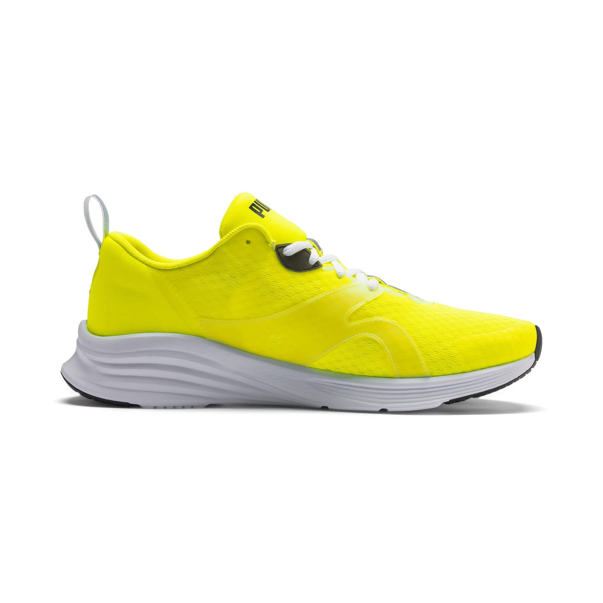 Thumbnail 6 of HYBRID Fuego Lights Men's Running Shoes, Yellow Alert, medium