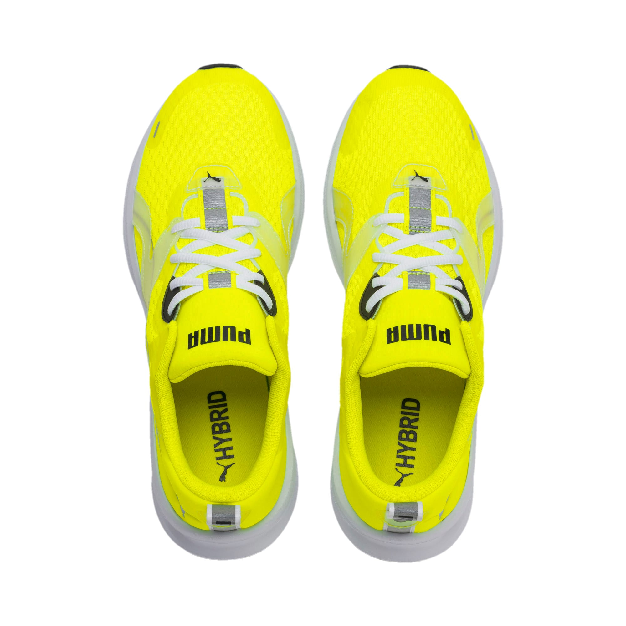 Thumbnail 7 of HYBRID Fuego Lights Men's Running Shoes, Yellow Alert, medium