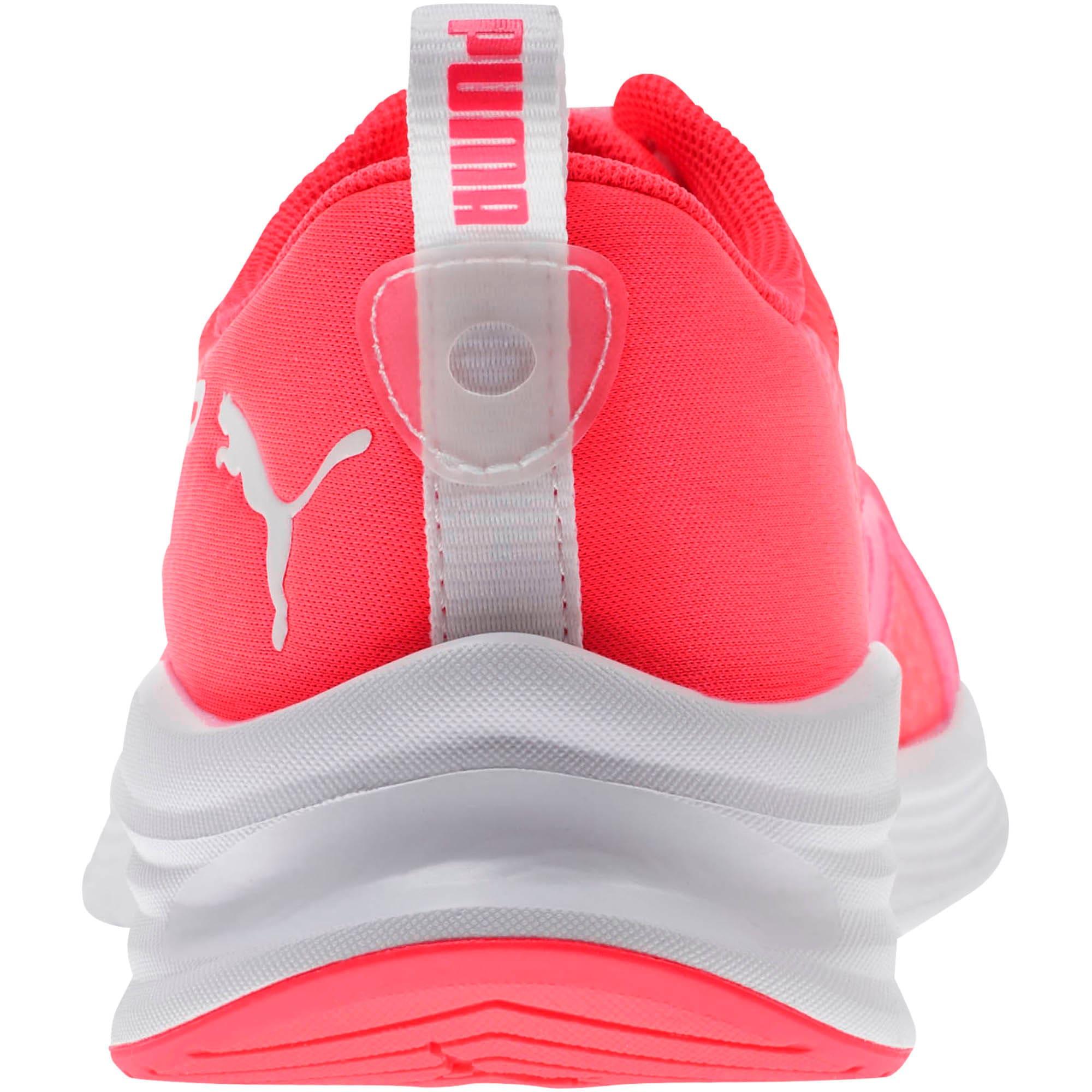 Thumbnail 3 of HYBRID Fuego Women's Running Shoes, Pink Alert-Puma White, medium