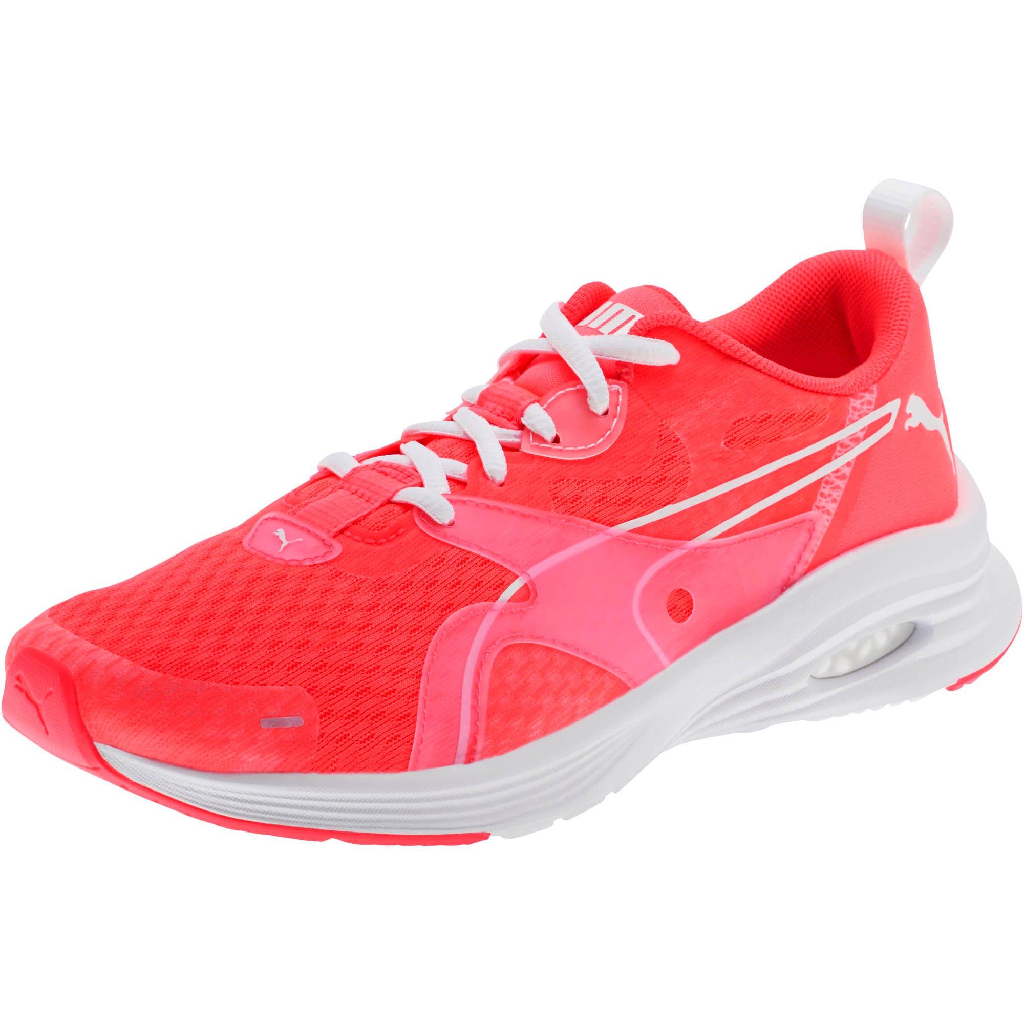 Thumbnail 1 of HYBRID Fuego Women's Running Shoes, Pink Alert-Puma White, medium