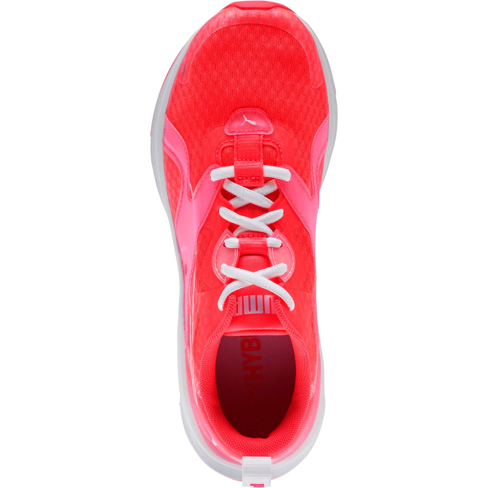 Thumbnail 5 of HYBRID Fuego Women's Running Shoes, Pink Alert-Puma White, medium