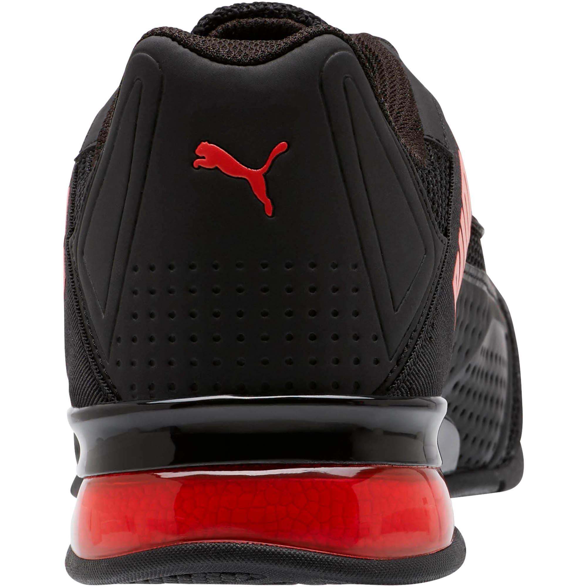 Miniatura 3 de Zapatos de entrenamiento Leader VT Bold, Puma Black-High Risk Red, mediano