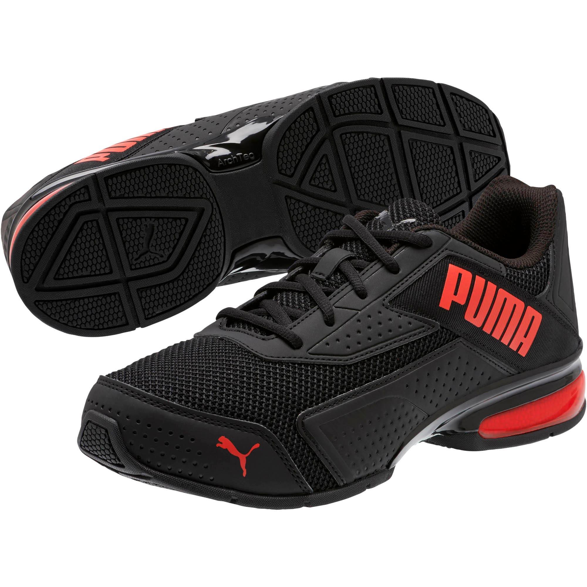 Miniatura 2 de Zapatos de entrenamiento Leader VT Bold, Puma Black-High Risk Red, mediano