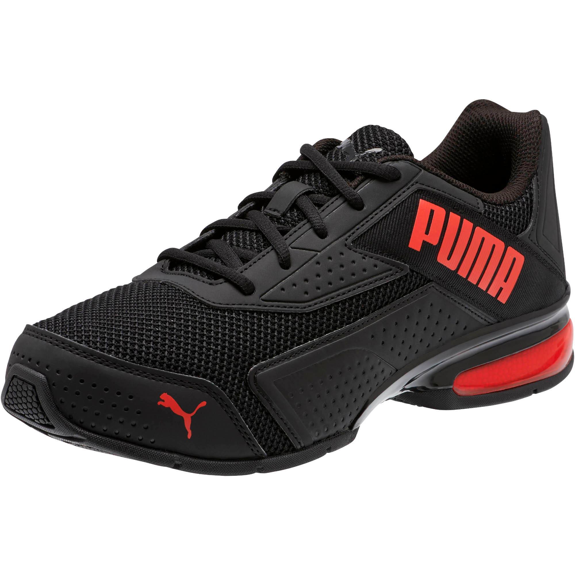 Miniatura 1 de Zapatos de entrenamiento Leader VT Bold, Puma Black-High Risk Red, mediano