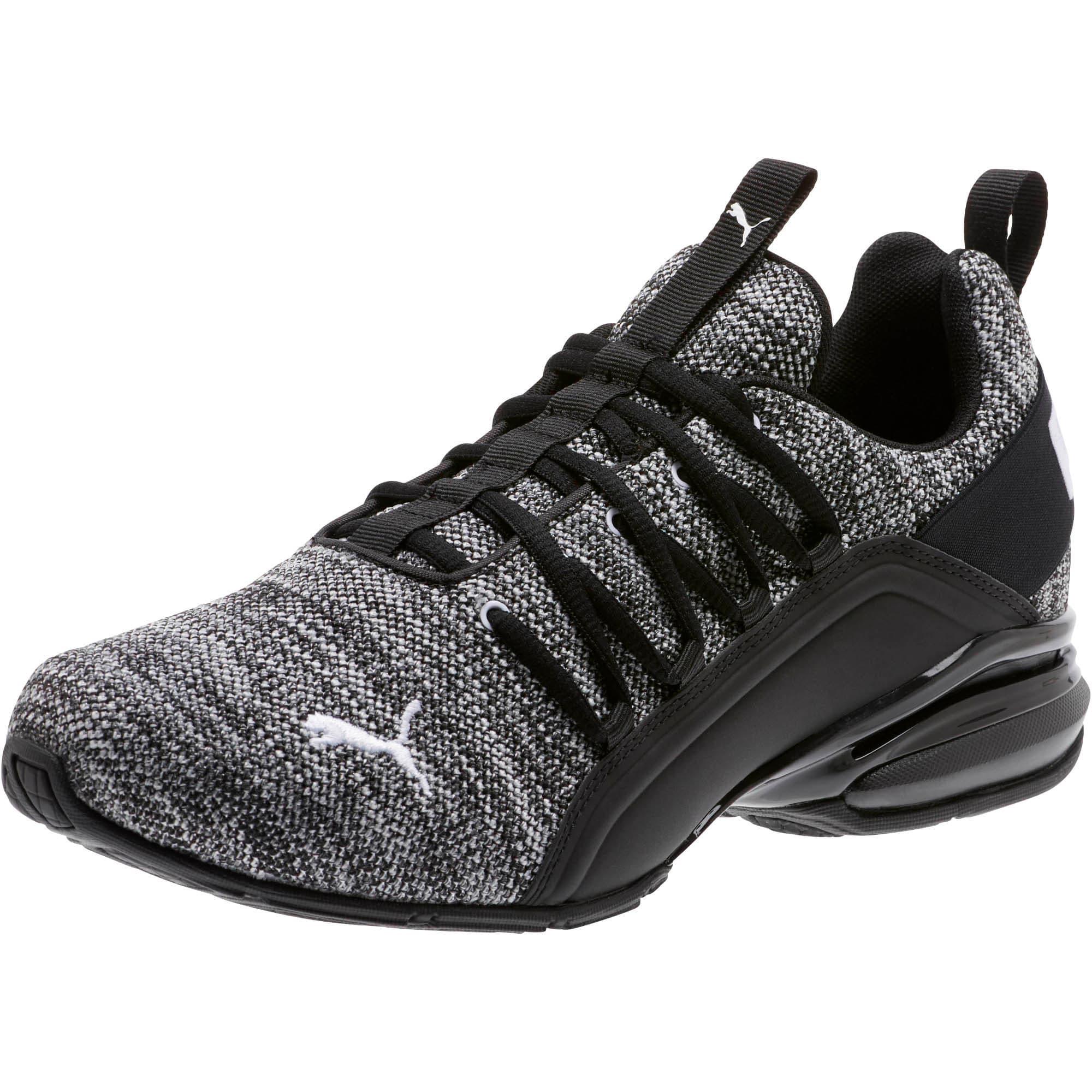 Thumbnail 1 of Axelion Wide Men's Training Shoes, Puma Black-Puma White, medium