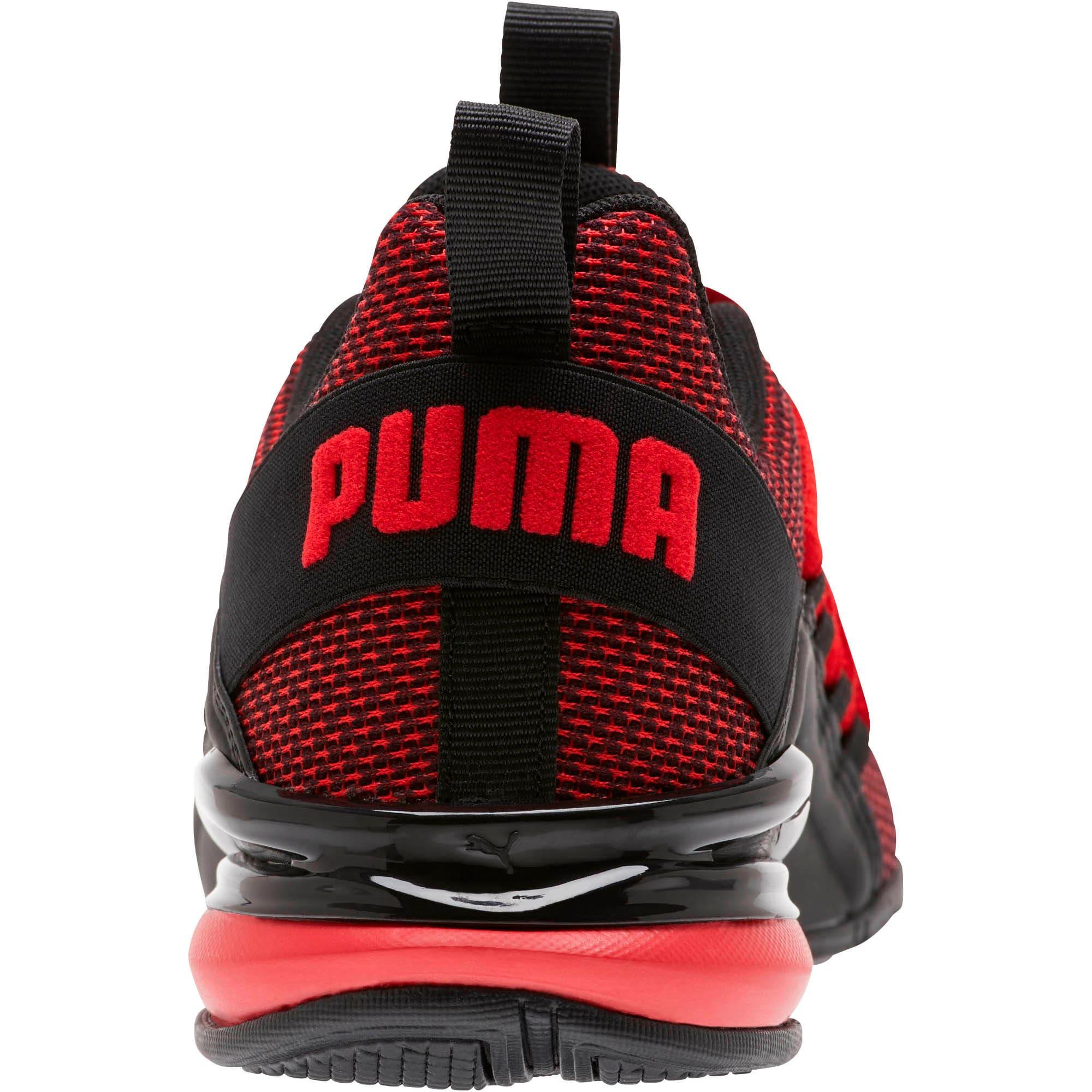 Thumbnail 3 of Axelion NM Training Shoes JR, High Risk Red-Puma Black, medium