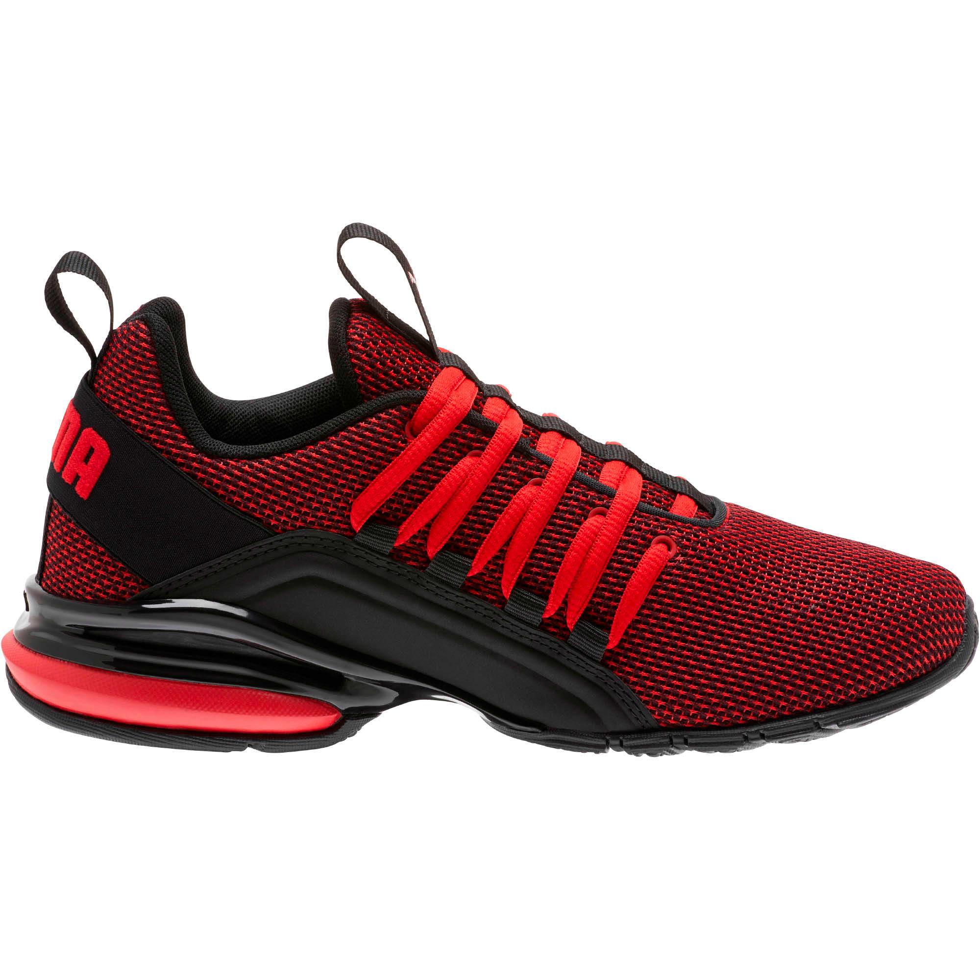 Thumbnail 4 of Axelion NM Training Shoes JR, High Risk Red-Puma Black, medium