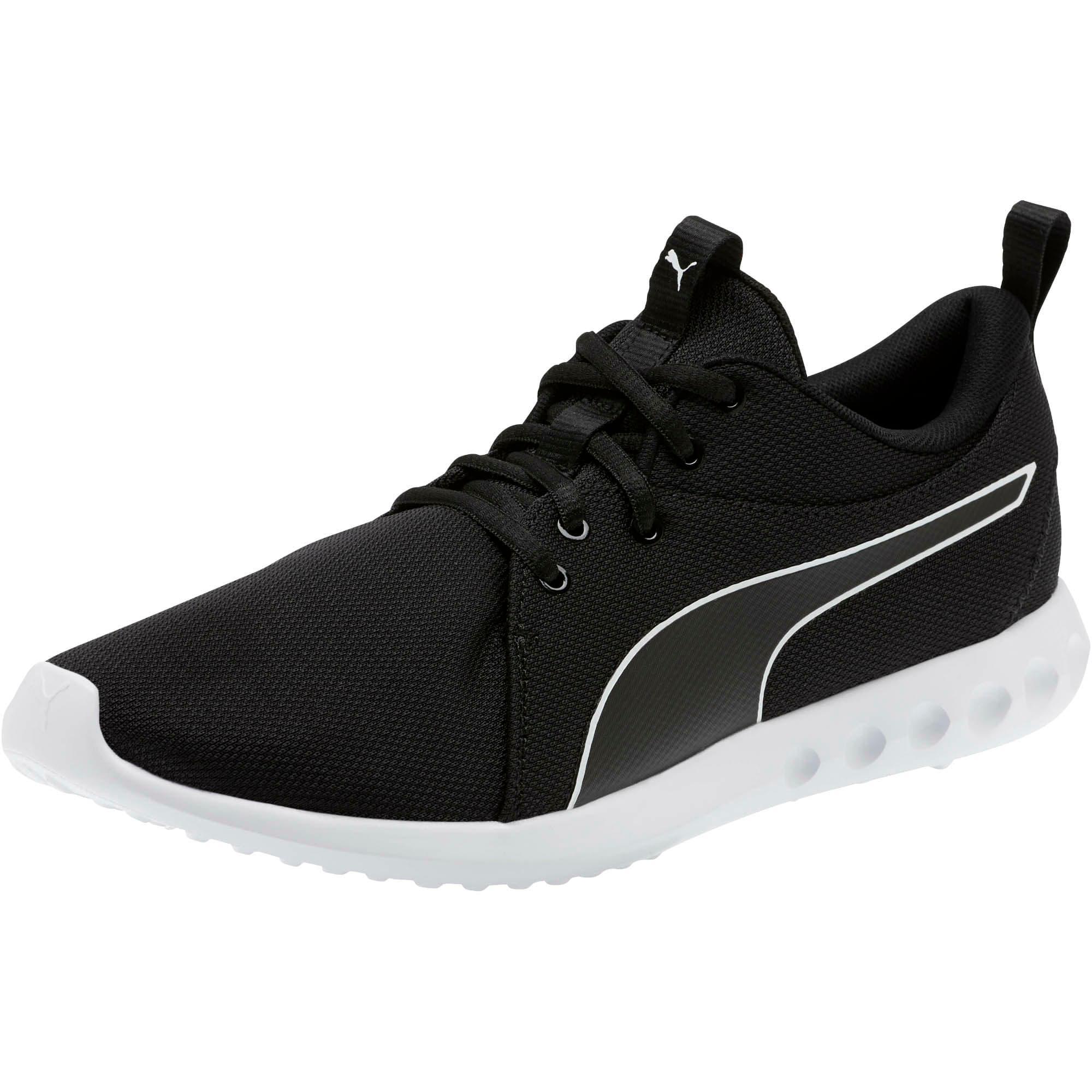 Thumbnail 1 of Carson 2 Cosmo Men's Running Shoes, Puma Black-Puma White, medium