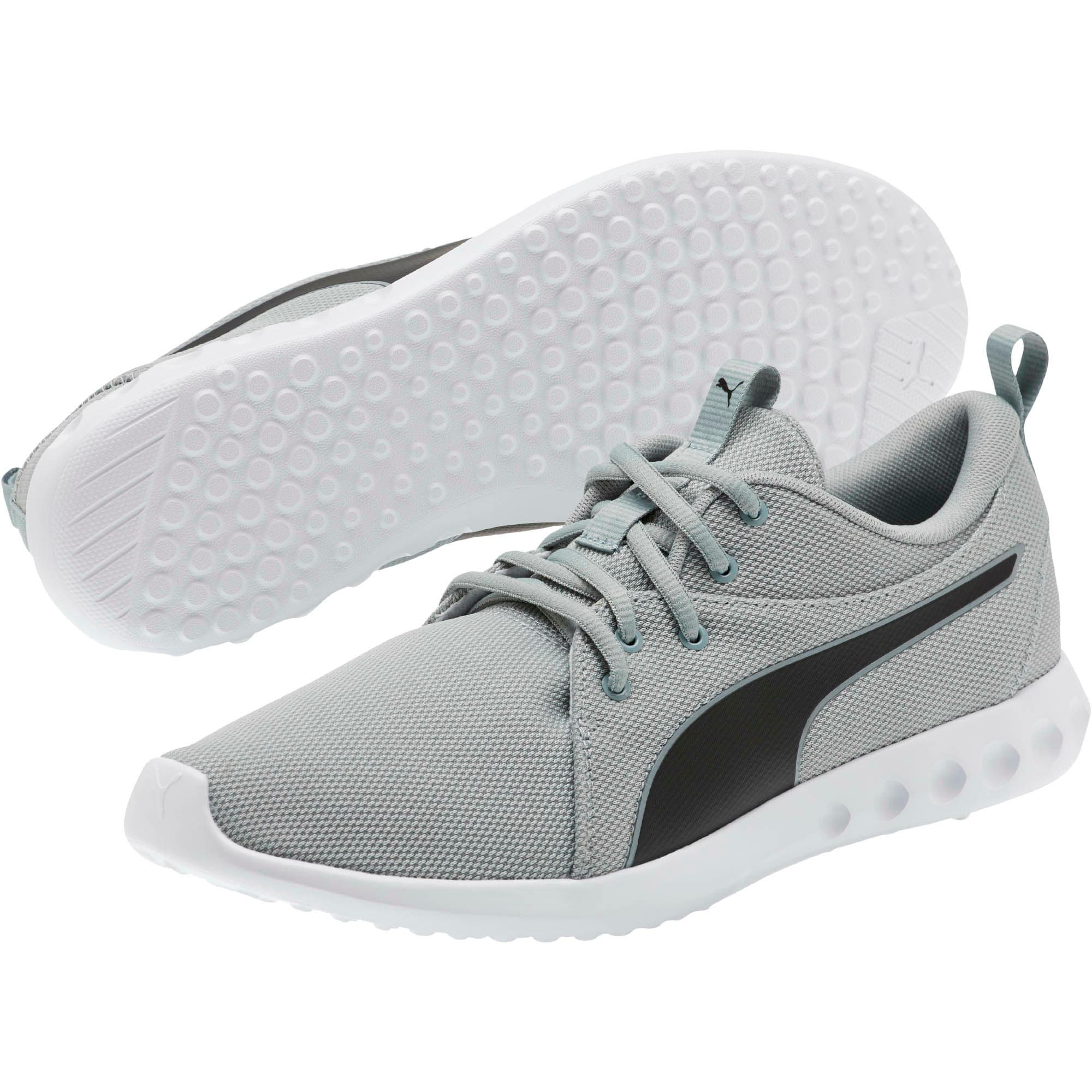Thumbnail 2 of Carson 2 Cosmo Men's Running Shoes, Quarry-Puma Black, medium