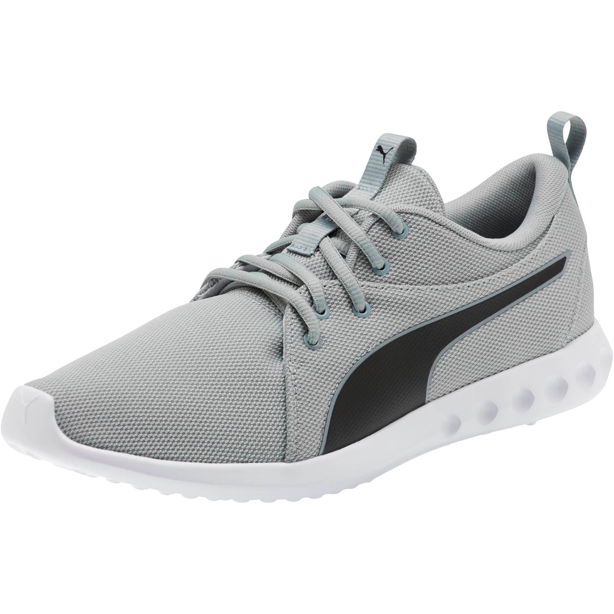 Thumbnail 1 of Carson 2 Cosmo Men's Running Shoes, Quarry-Puma Black, medium