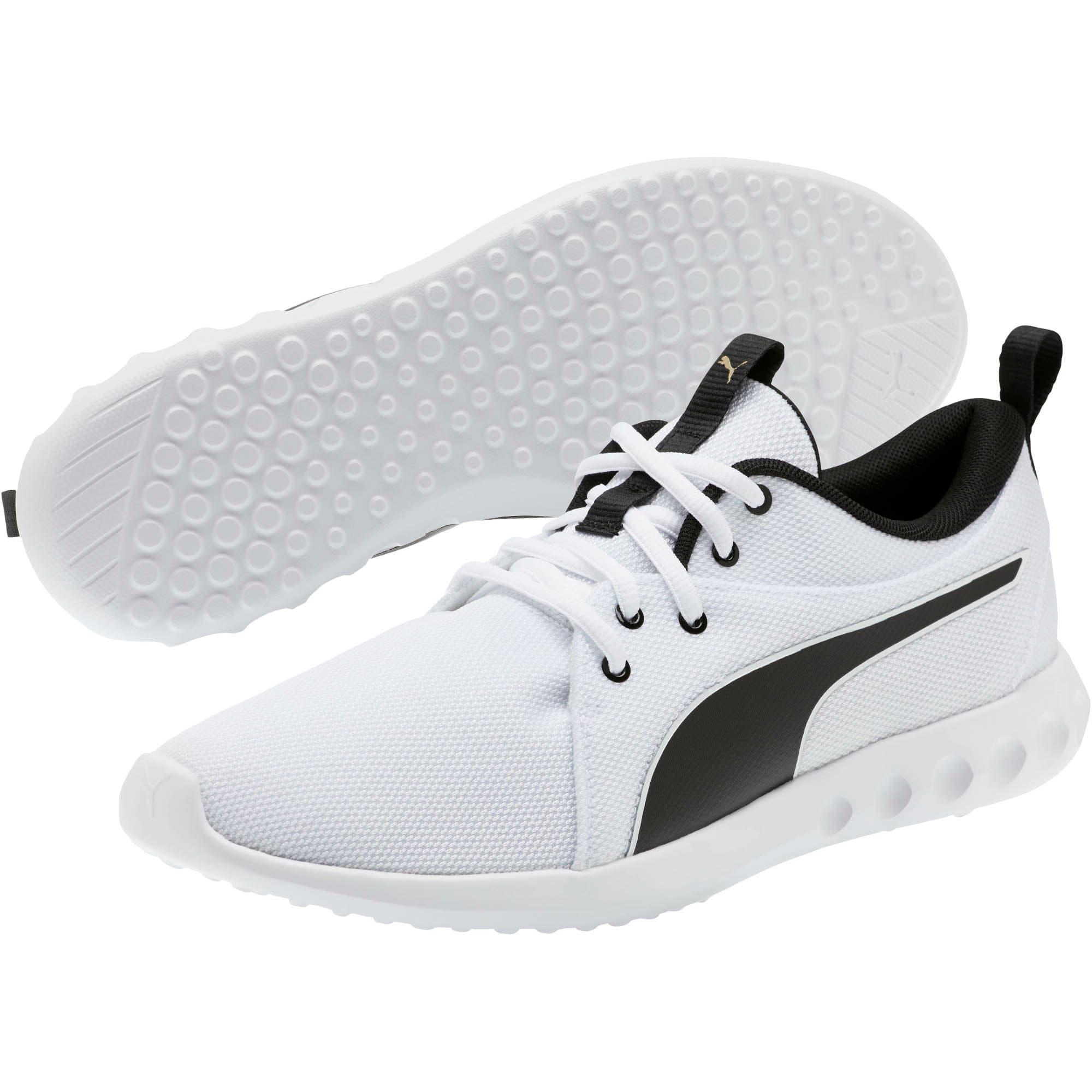 Miniatura 2 de Zapatos para correr Carson 2 Cosmo para hombre, Puma White-Metallic Gold, mediano