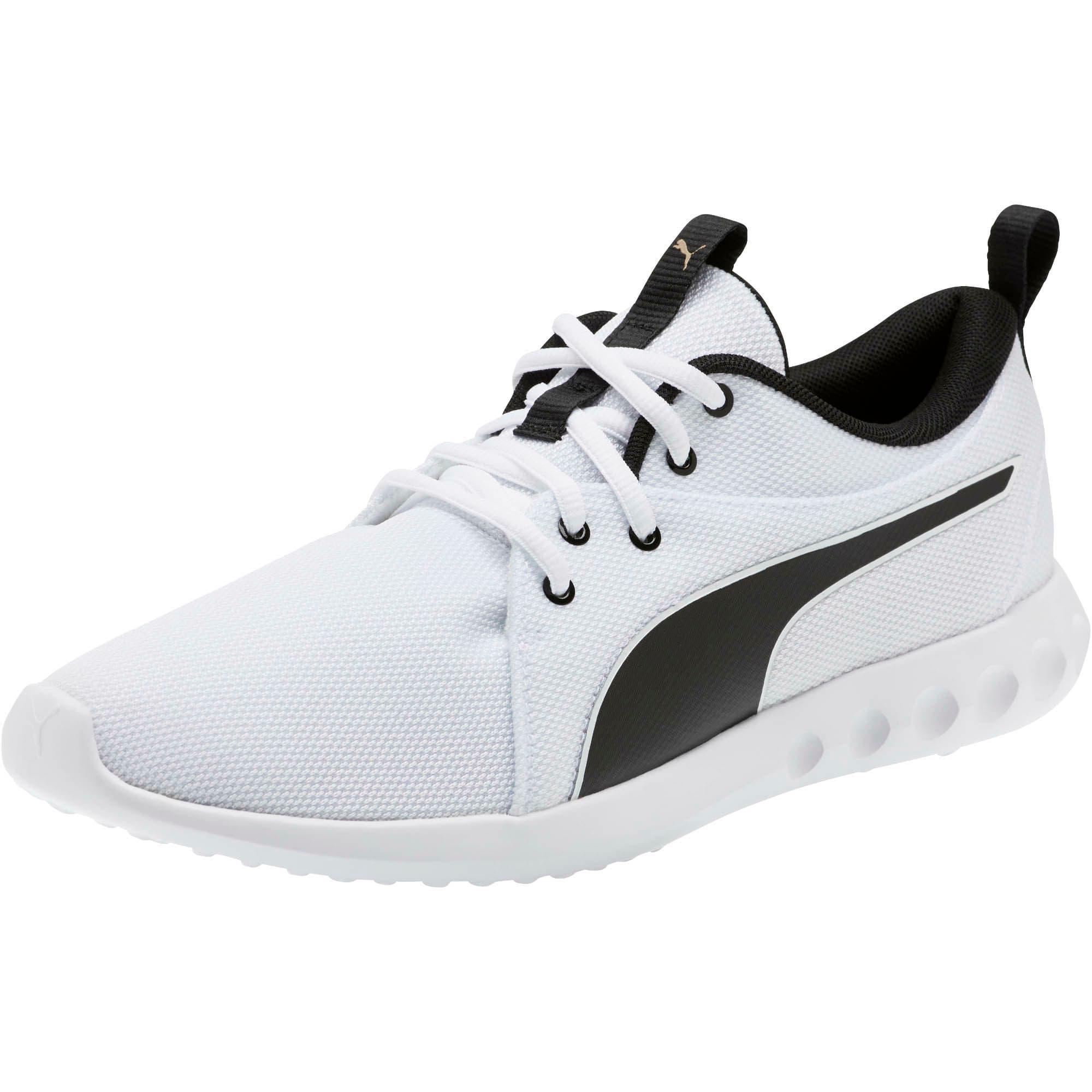 Miniatura 1 de Zapatos para correr Carson 2 Cosmo para hombre, Puma White-Metallic Gold, mediano