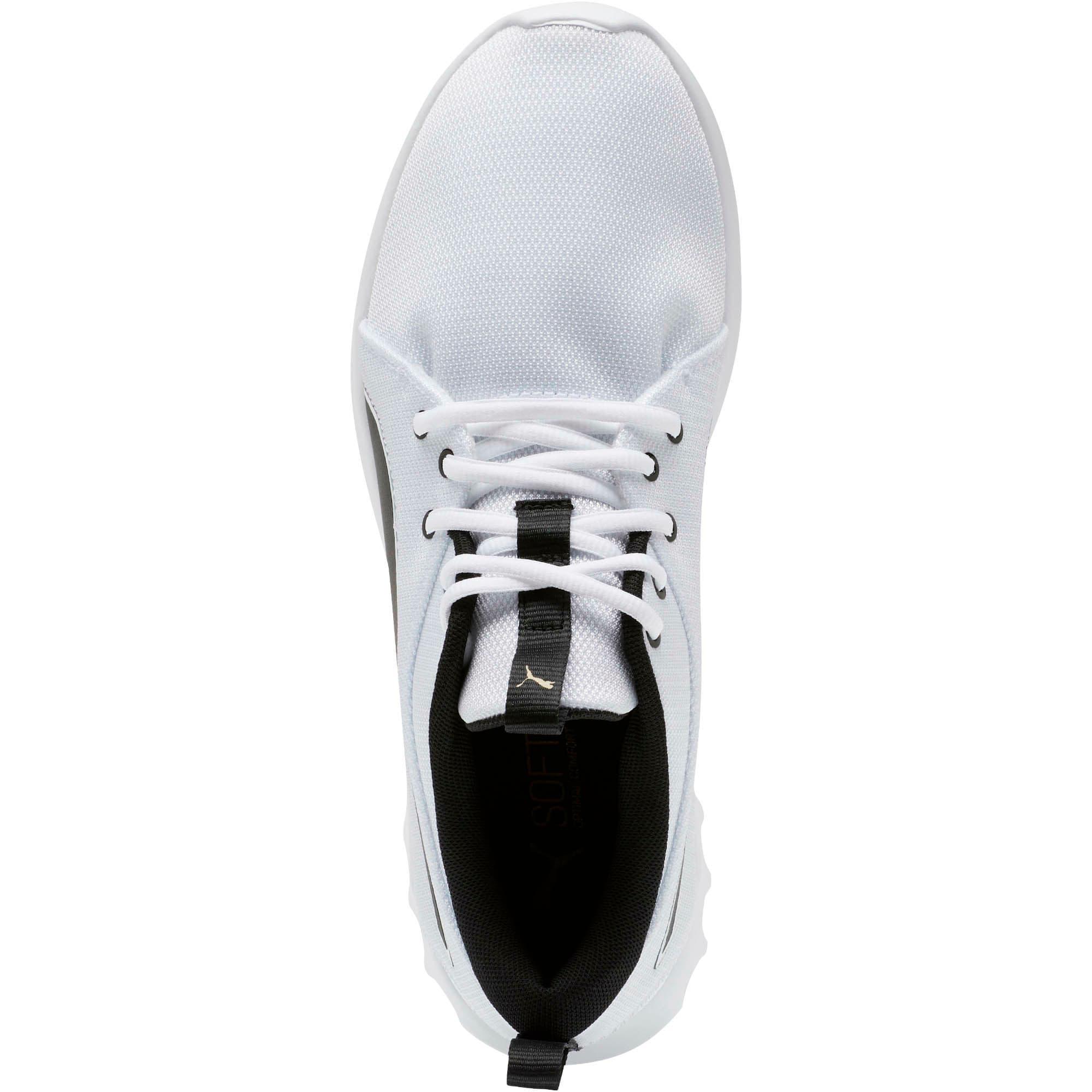 Miniatura 5 de Zapatos para correr Carson 2 Cosmo para hombre, Puma White-Metallic Gold, mediano