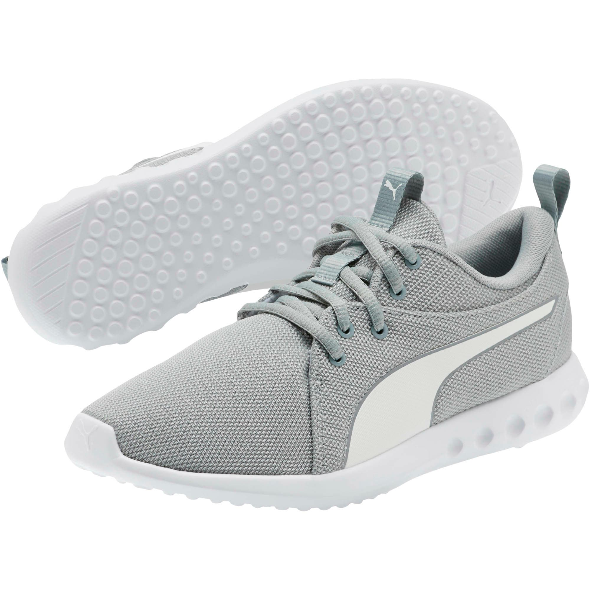 Thumbnail 2 of Carson 2 Cosmo Women's Running Shoes, Quarry-Puma White, medium