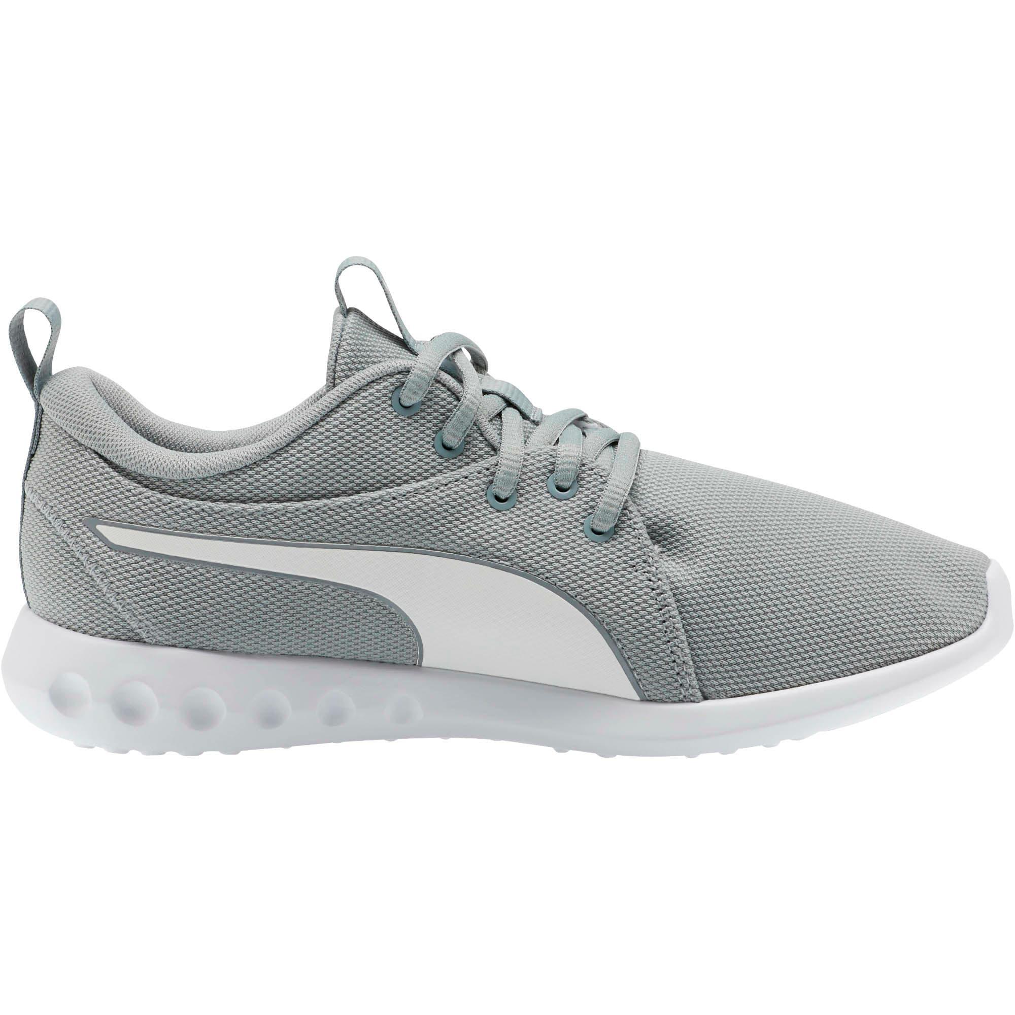 Thumbnail 4 of Carson 2 Cosmo Women's Running Shoes, Quarry-Puma White, medium