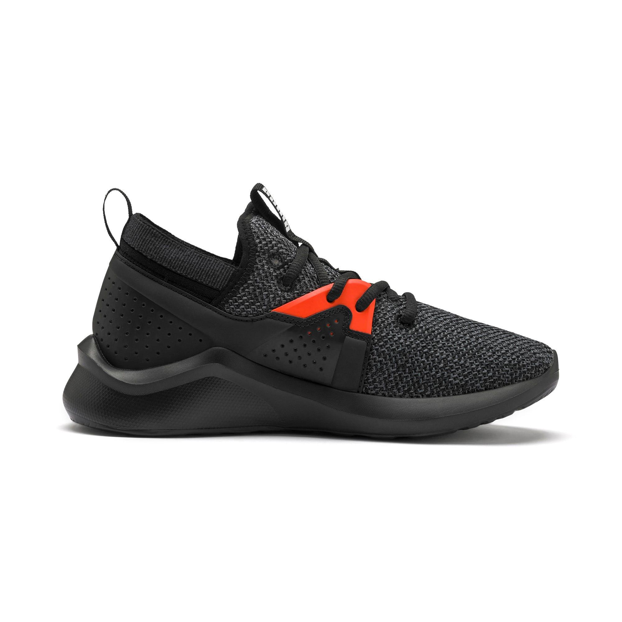 Thumbnail 5 of Emergence Sneakers JR, Puma Black-Cherry Tomato, medium