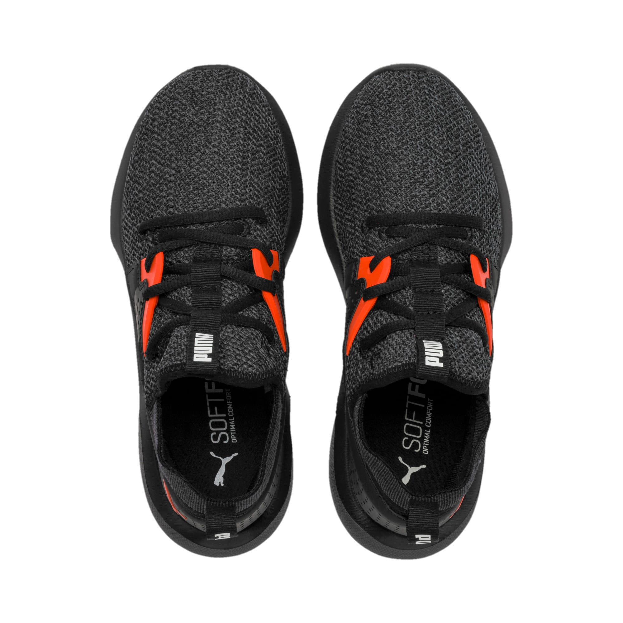 Thumbnail 6 of Emergence Sneakers JR, Puma Black-Cherry Tomato, medium