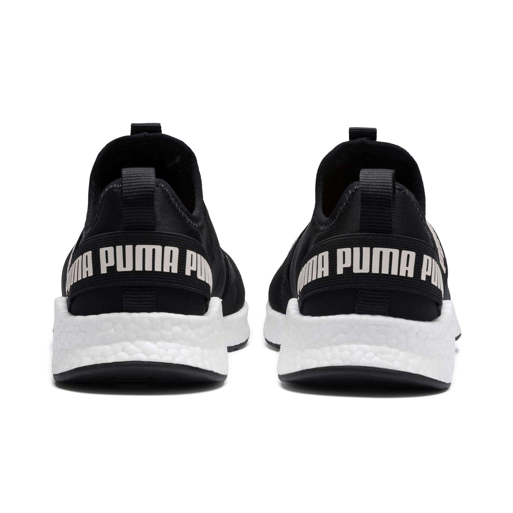 Thumbnail 4 of NRGY Star Slip-On Running Shoes, Black-Pearl-White, medium