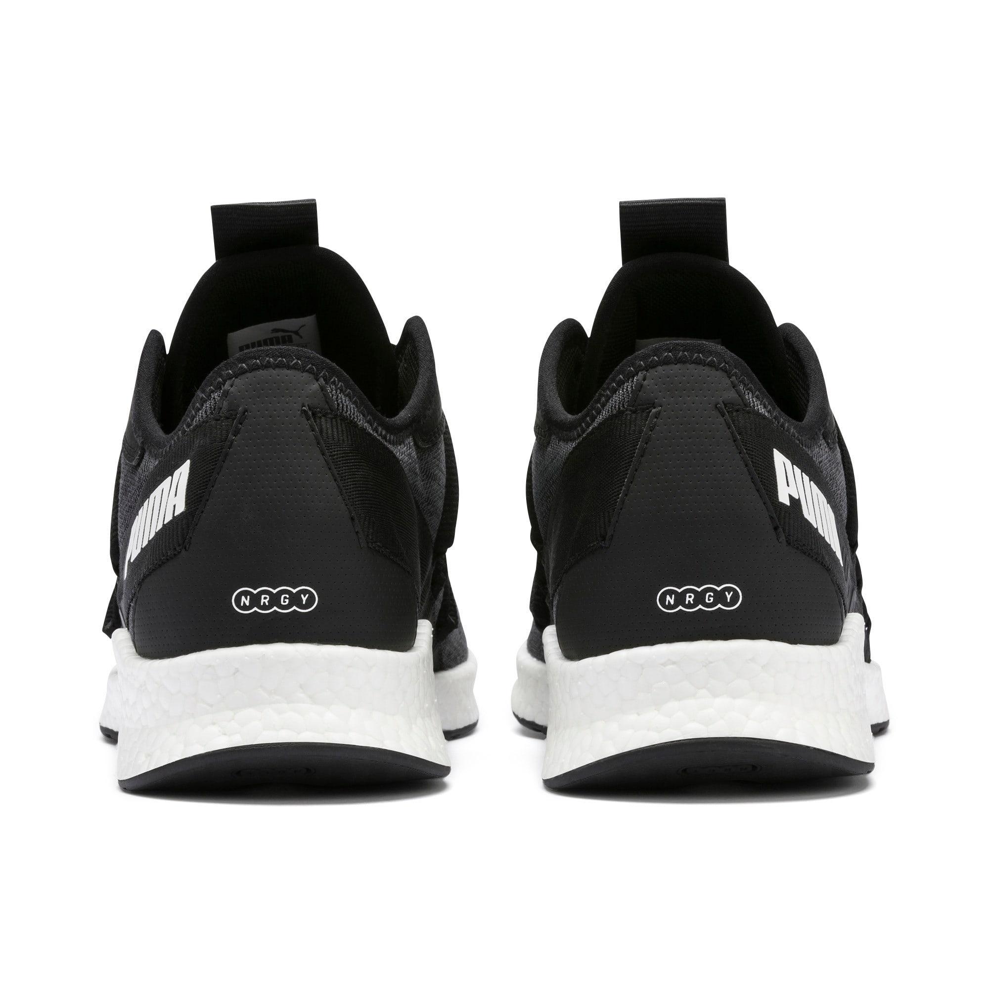 Thumbnail 4 of NRGY Star Knit Running Shoes, Puma Black-Puma White, medium