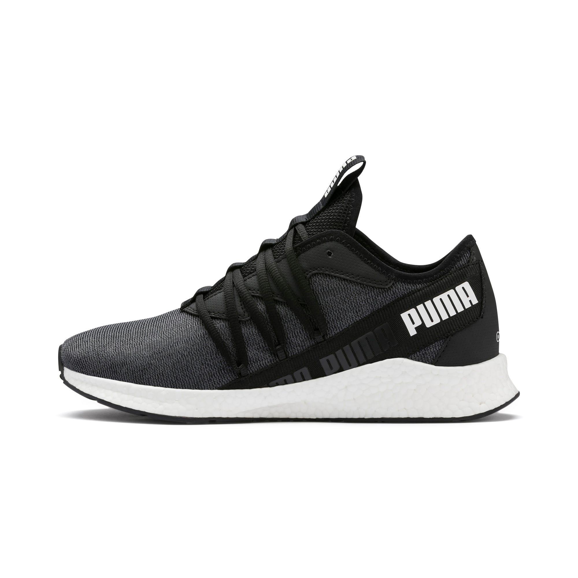 Thumbnail 1 of NRGY Star Knit Running Shoes, Puma Black-Puma White, medium