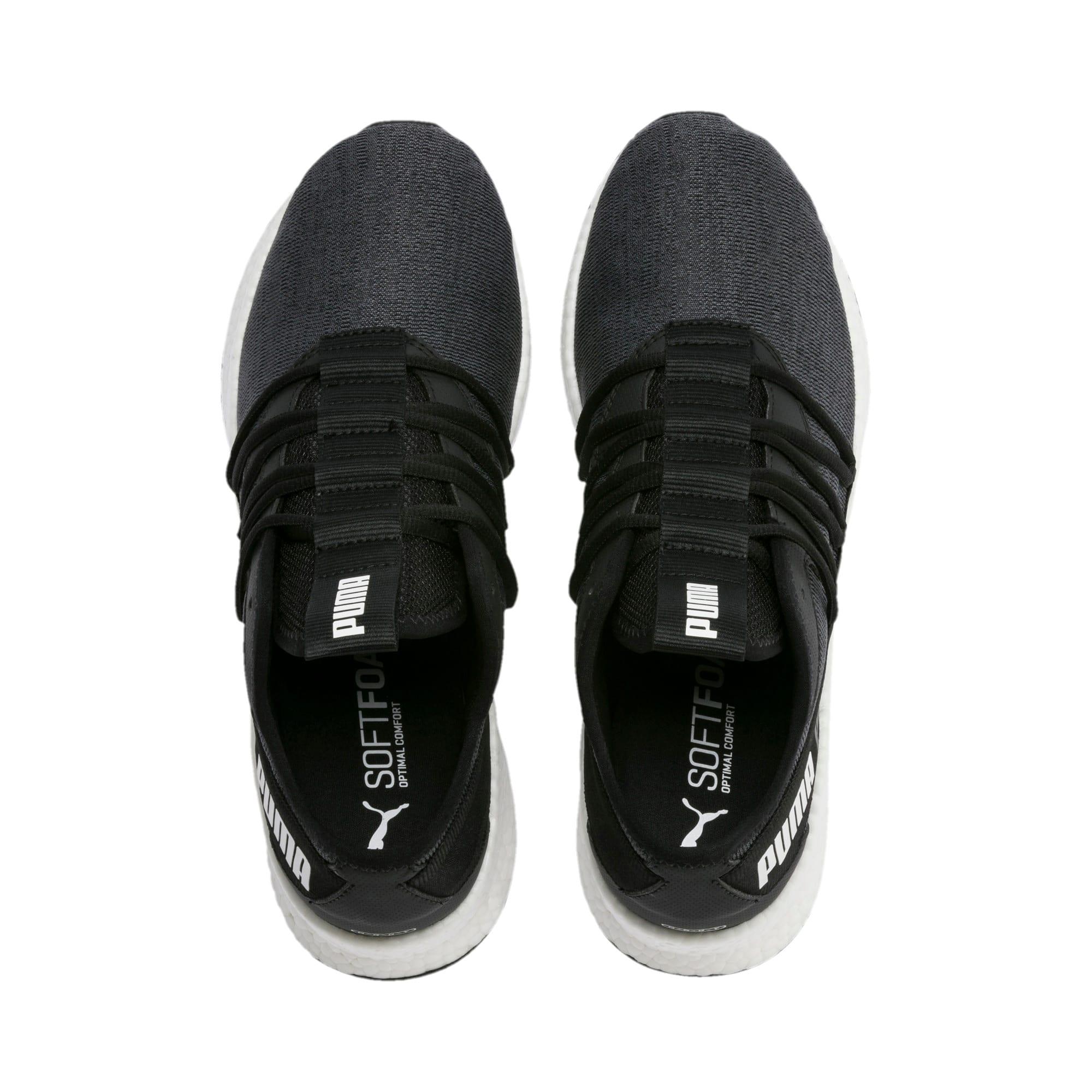 Thumbnail 7 of NRGY Star Knit Running Shoes, Puma Black-Puma White, medium