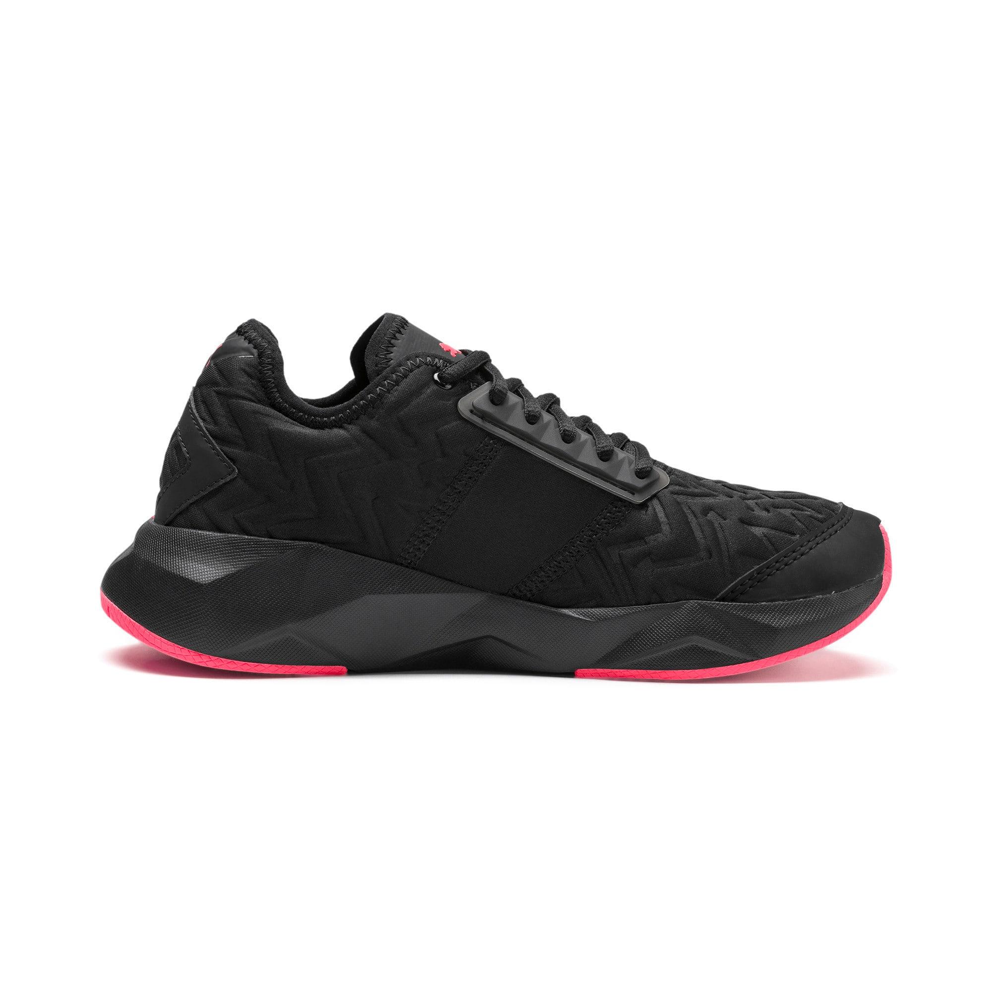 Thumbnail 5 of CELL Plasmic Fluorescent Women's Training Shoes, Puma Black-Pink Alert, medium