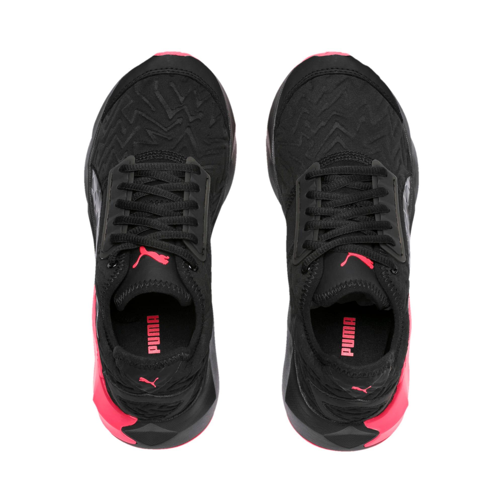 Thumbnail 6 of CELL Plasmic Fluorescent Women's Training Shoes, Puma Black-Pink Alert, medium