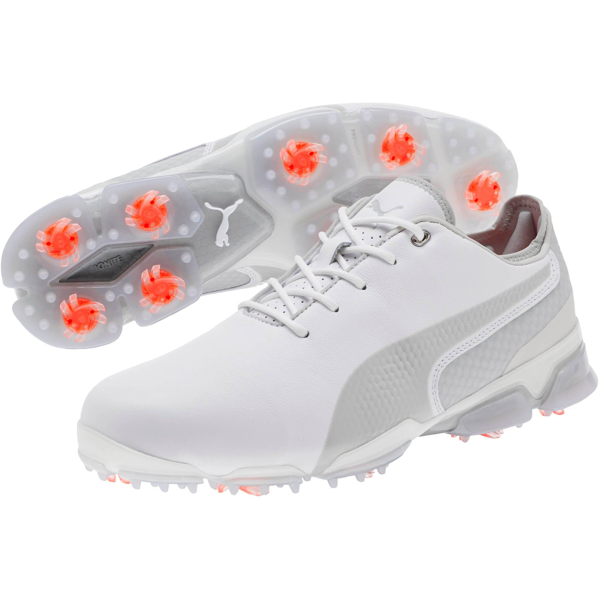 Thumbnail 2 of IGNITE PROADAPT Men's Golf Shoes, White-Gray Violet, medium