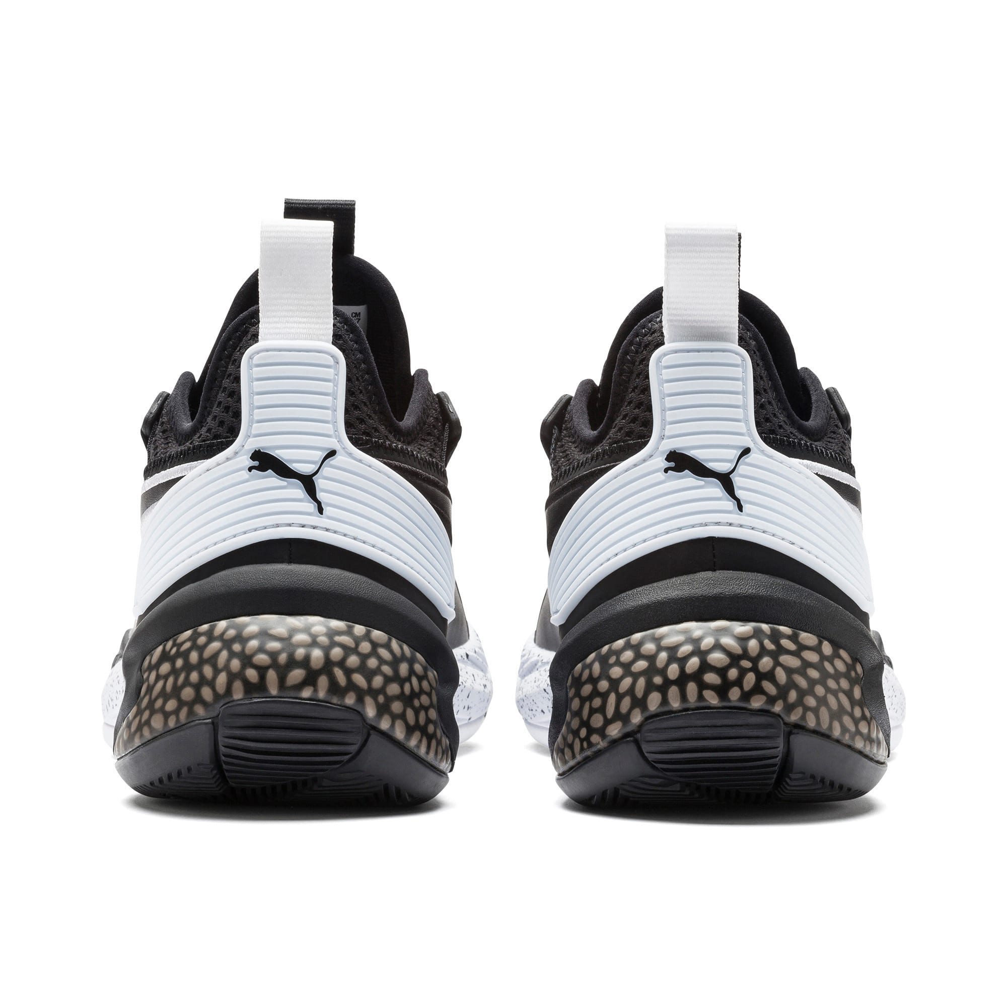 Thumbnail 3 of Uproar Core Basketball Shoes, Puma Black, medium