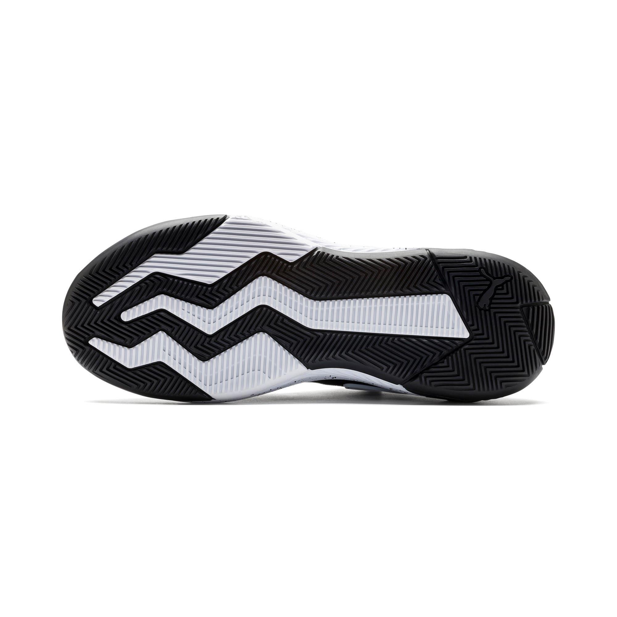 Thumbnail 4 of Uproar Core Basketball Shoes, Puma Black, medium