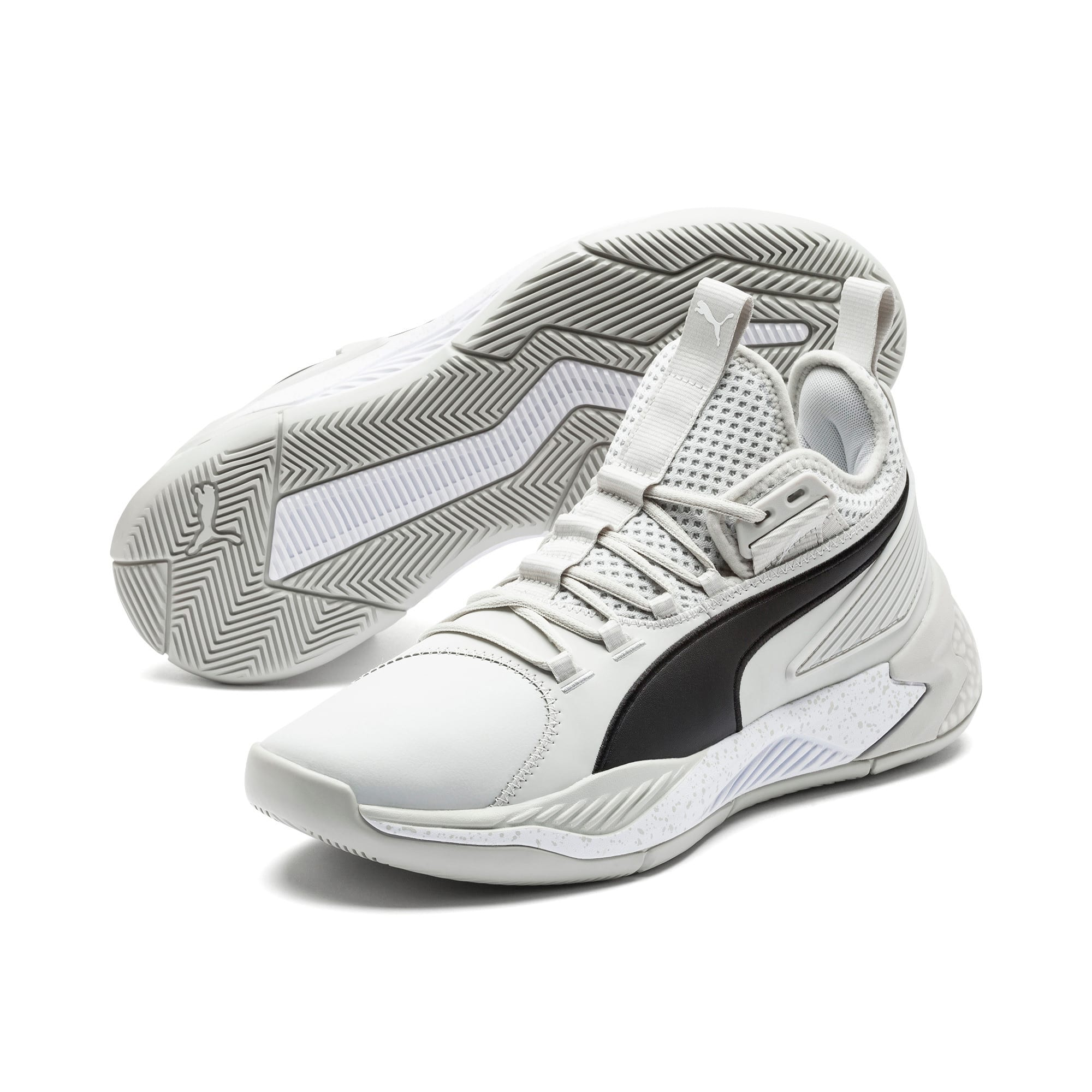 Anteprima 2 di Uproar Core Men's Basketball Shoes, Glacier Gray, medio