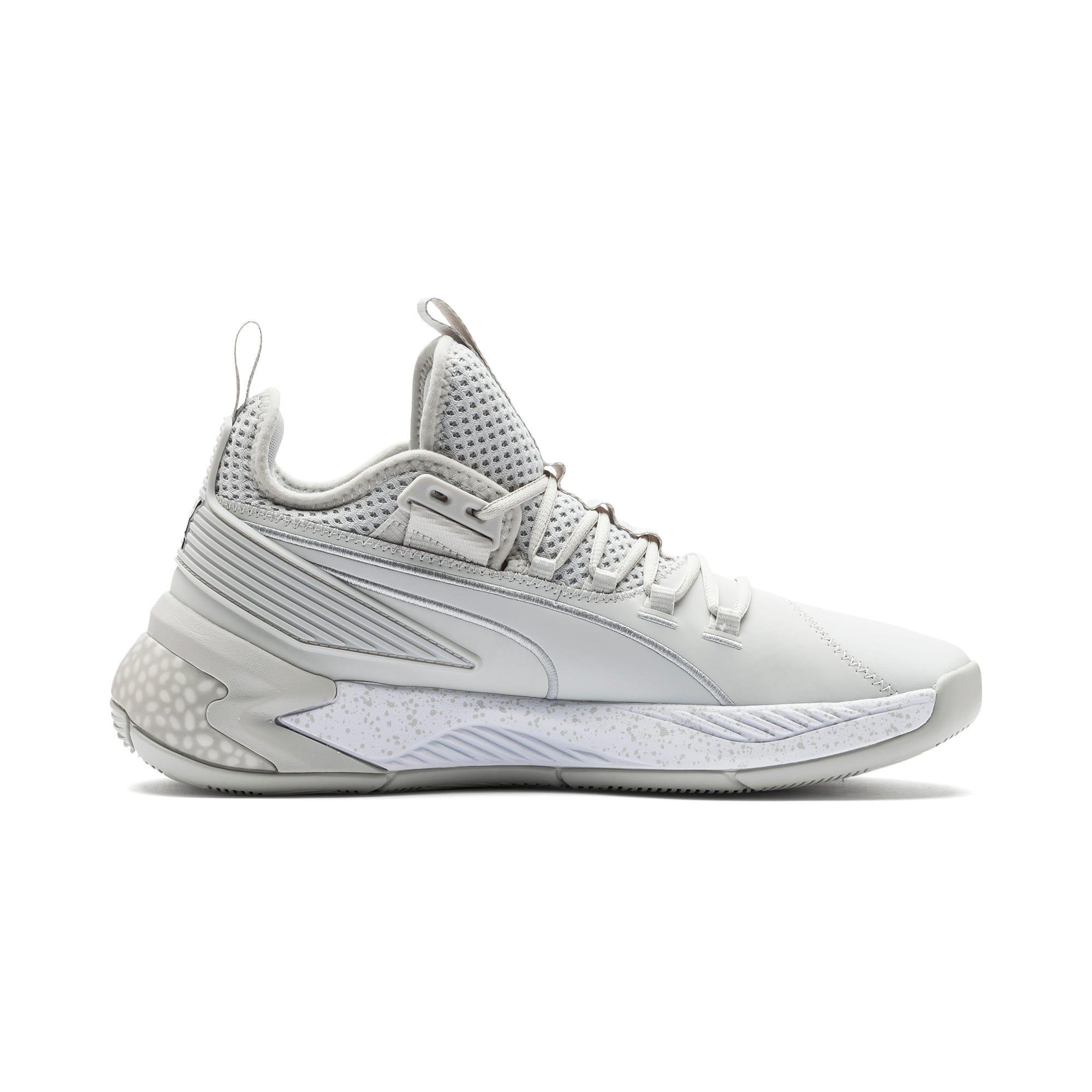 Thumbnail 5 of Uproar Core Basketball Shoes, Glacier Gray, medium