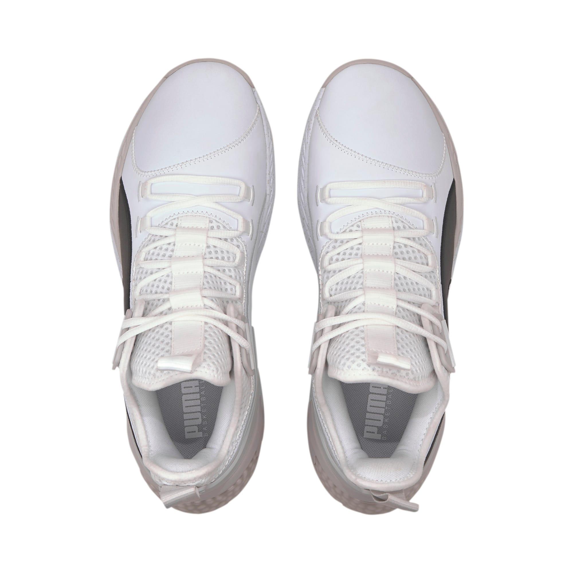 Imagen en miniatura 6 de Zapatillas de baloncesto de hombre Uproar Core, Puma White-Glacier Gray, mediana