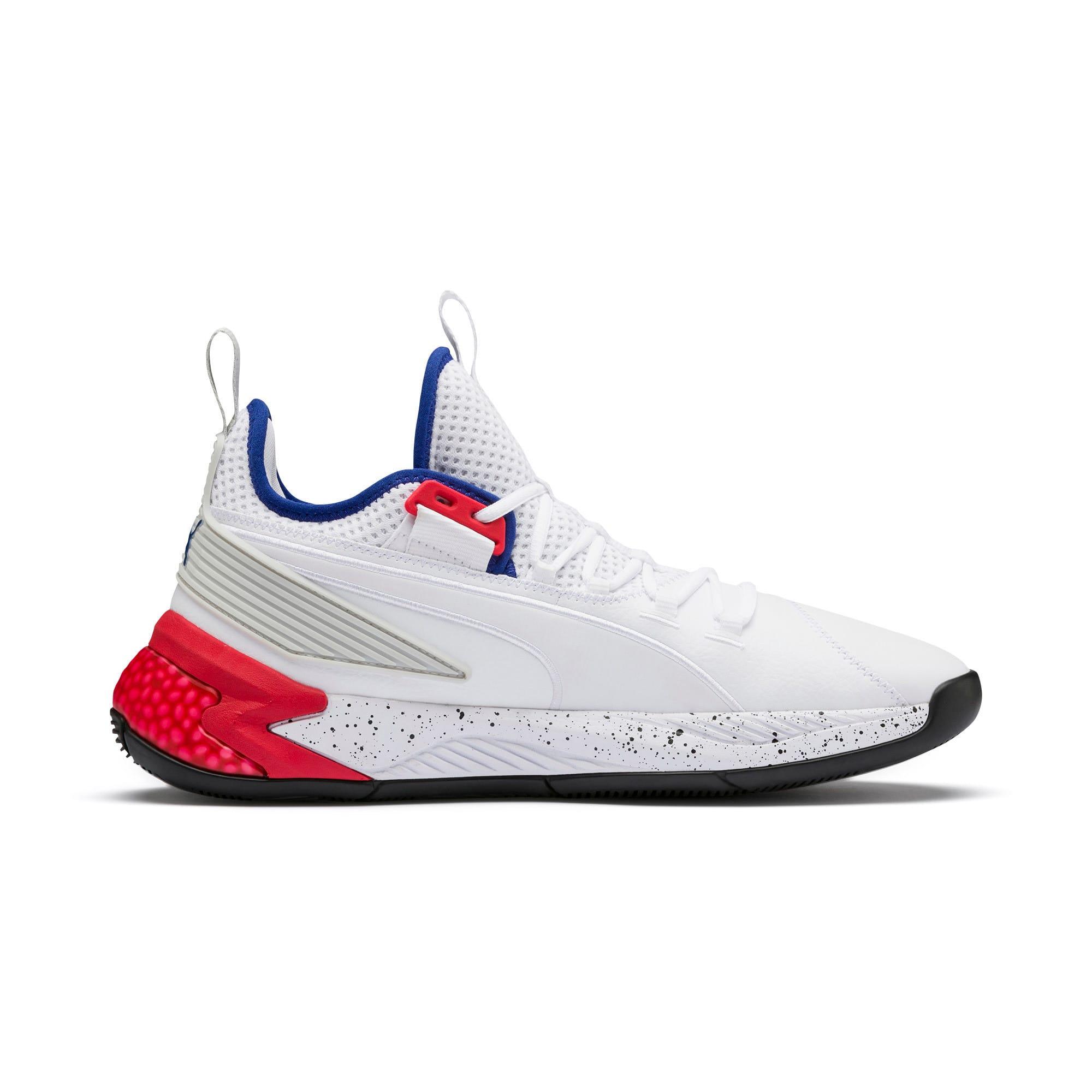 Thumbnail 5 of Uproar Palace Guard Basketball Shoes, Puma White-Surf The Web, medium
