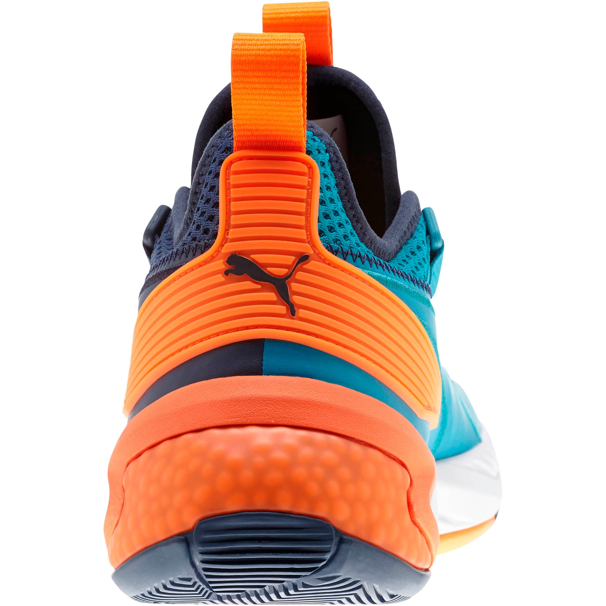Thumbnail 4 of Uproar Charlotte ASG Fade Basketball Shoes, Orange- PURPLE, medium