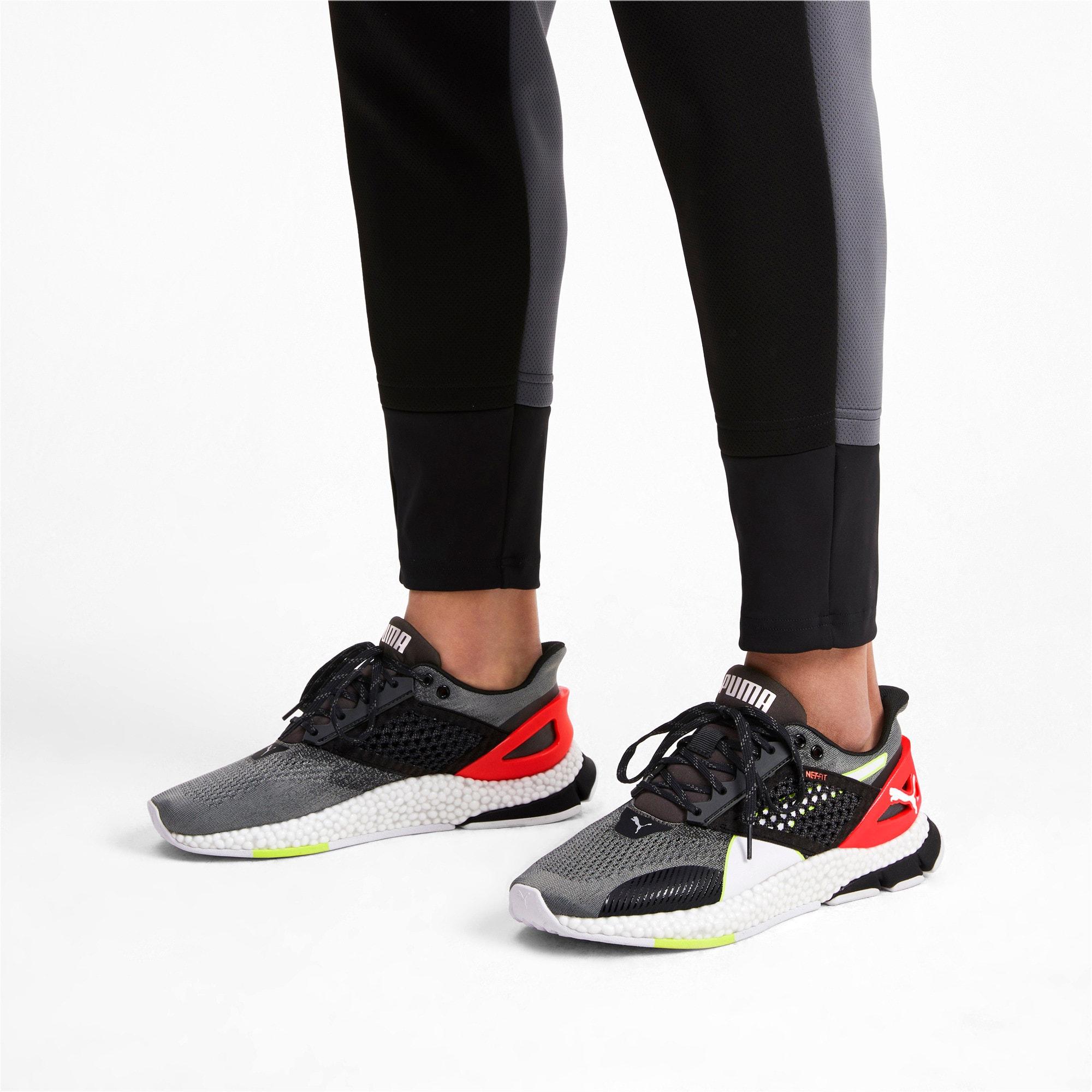 Thumbnail 3 of HYBRID NETFIT Astro Men's Running Shoes, CASTLEROCK-Puma Blck-Ngy Red, medium-IND