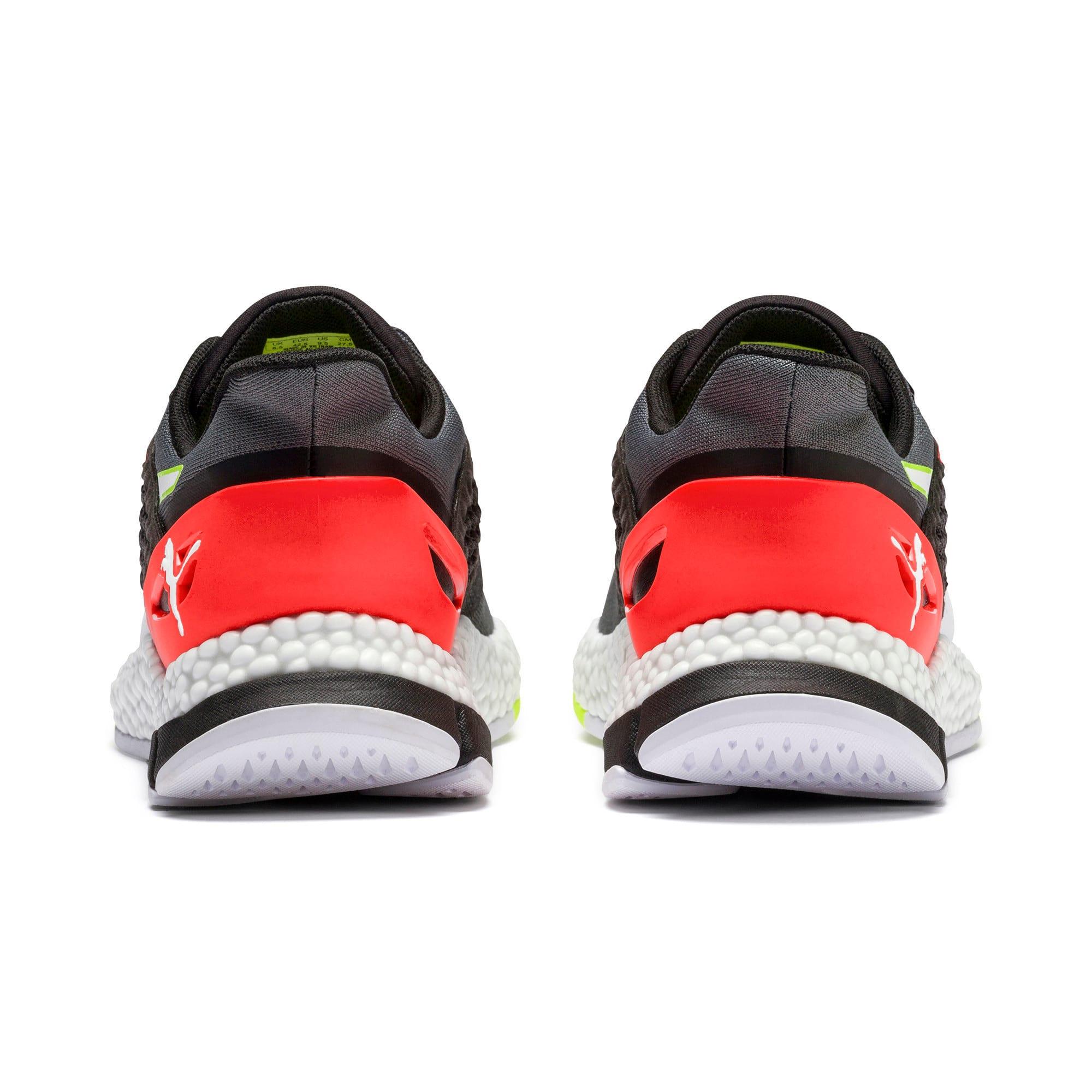 Thumbnail 7 of HYBRID NETFIT Astro Men's Running Shoes, CASTLEROCK-Puma Blck-Ngy Red, medium-IND