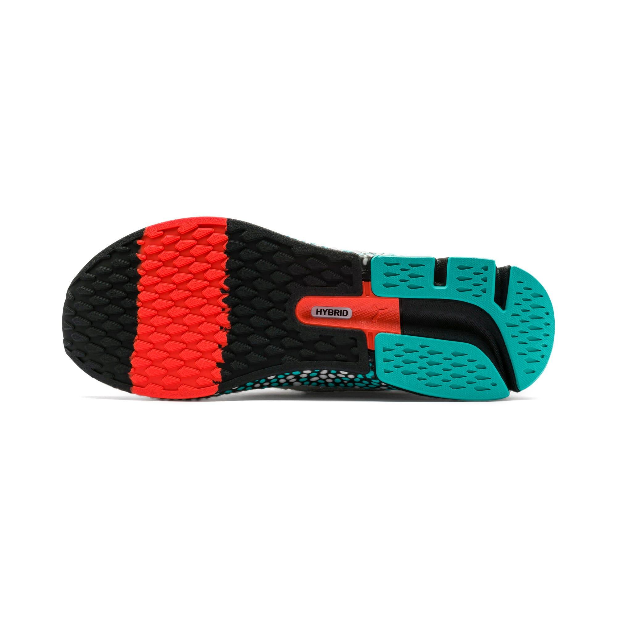Thumbnail 4 of Chaussure de course HYBRID NETFIT Astro pour homme, Puma White-Blue Turquoise, medium