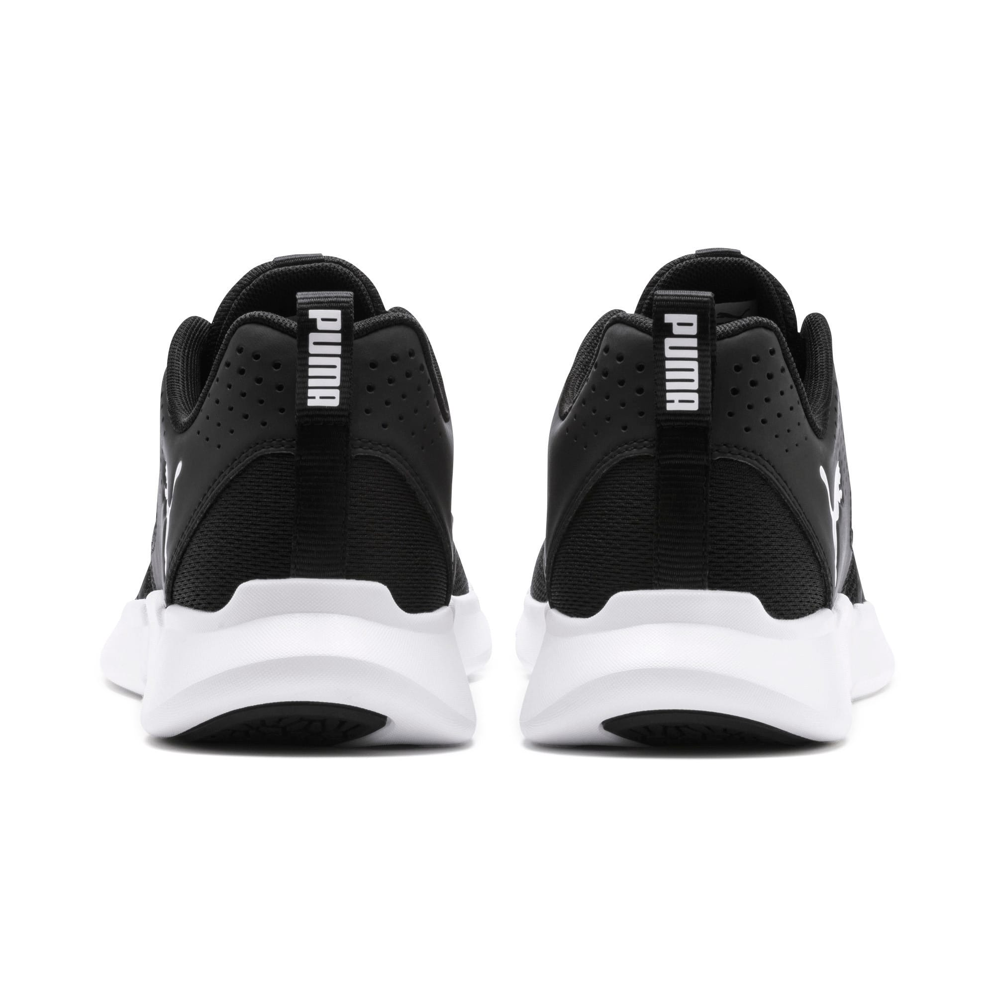 Thumbnail 5 of INTERFLEX Modern Running Shoes, Puma Black-Puma White, medium-IND